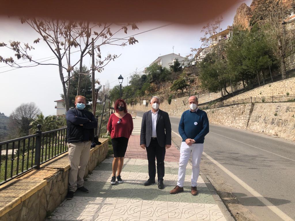 Diputación invierte 190.000 euros en la mejora de carreteras en Víznar y Cogollos Vega
