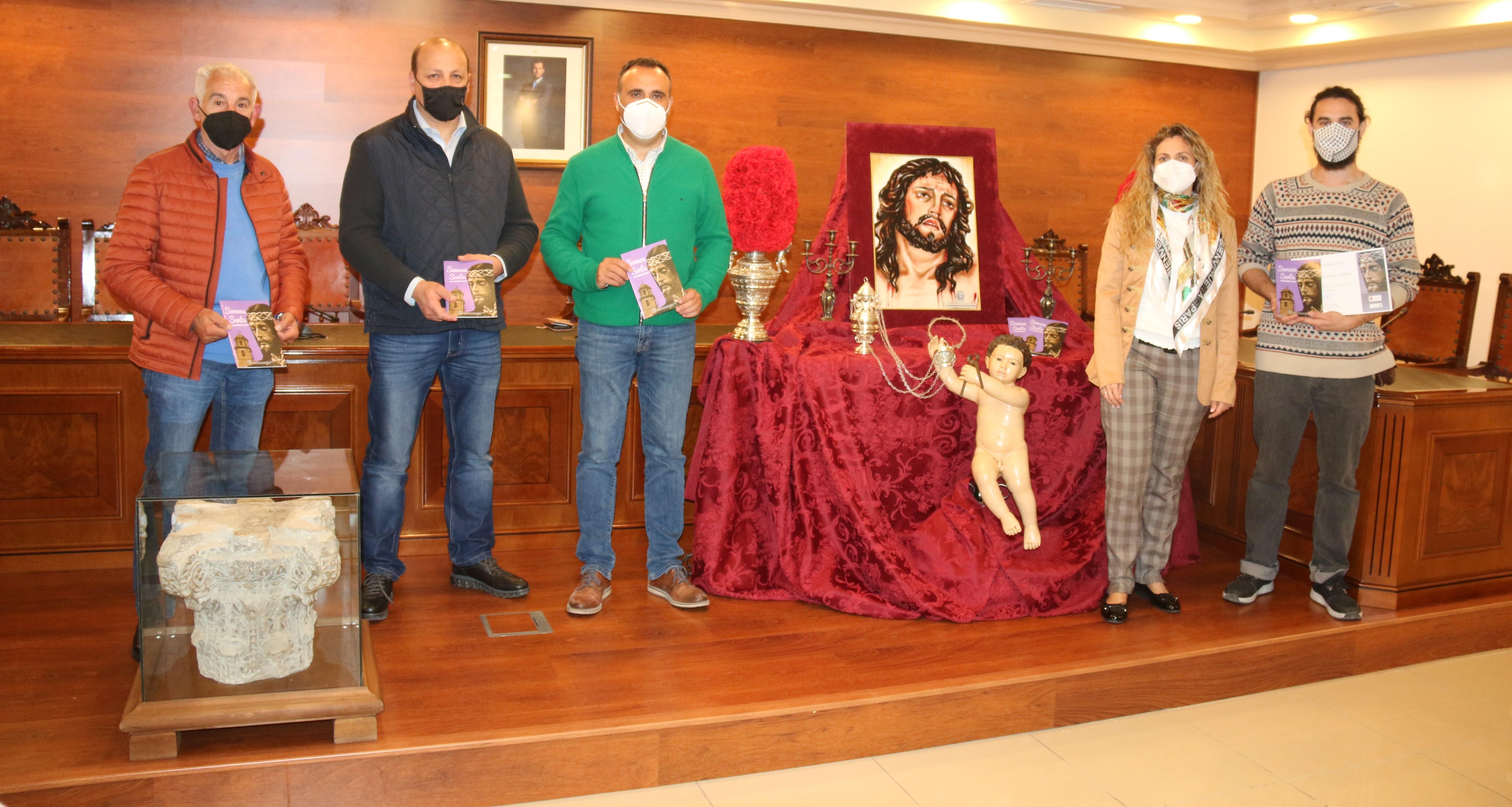 Alhendín presenta el cartel de su Semana Santa