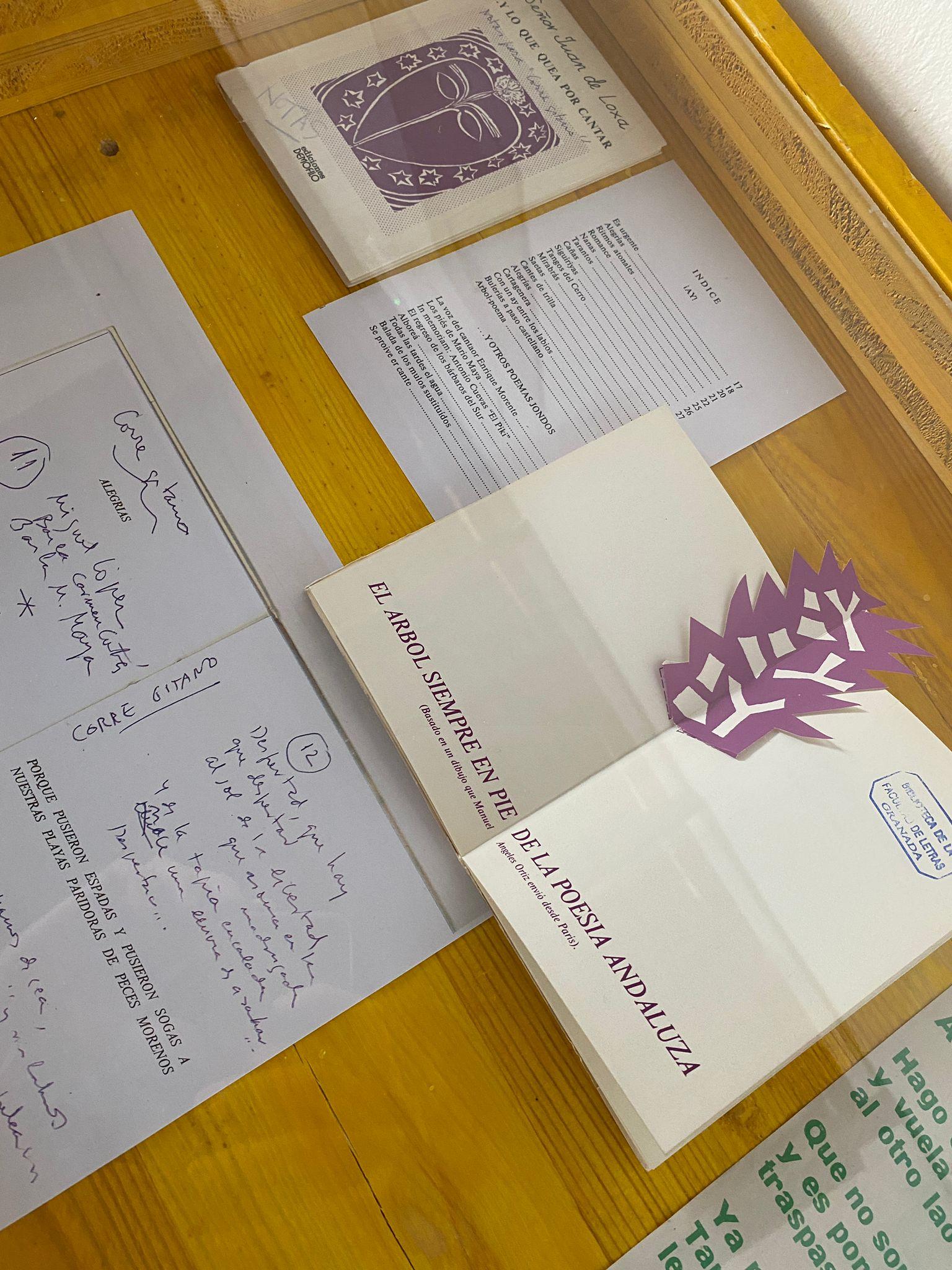 La exposición 'Jondos 21', conmemora la edición de 'Jondos 6', publicación de Heredia Maya y Juan de Loxa, entre otros