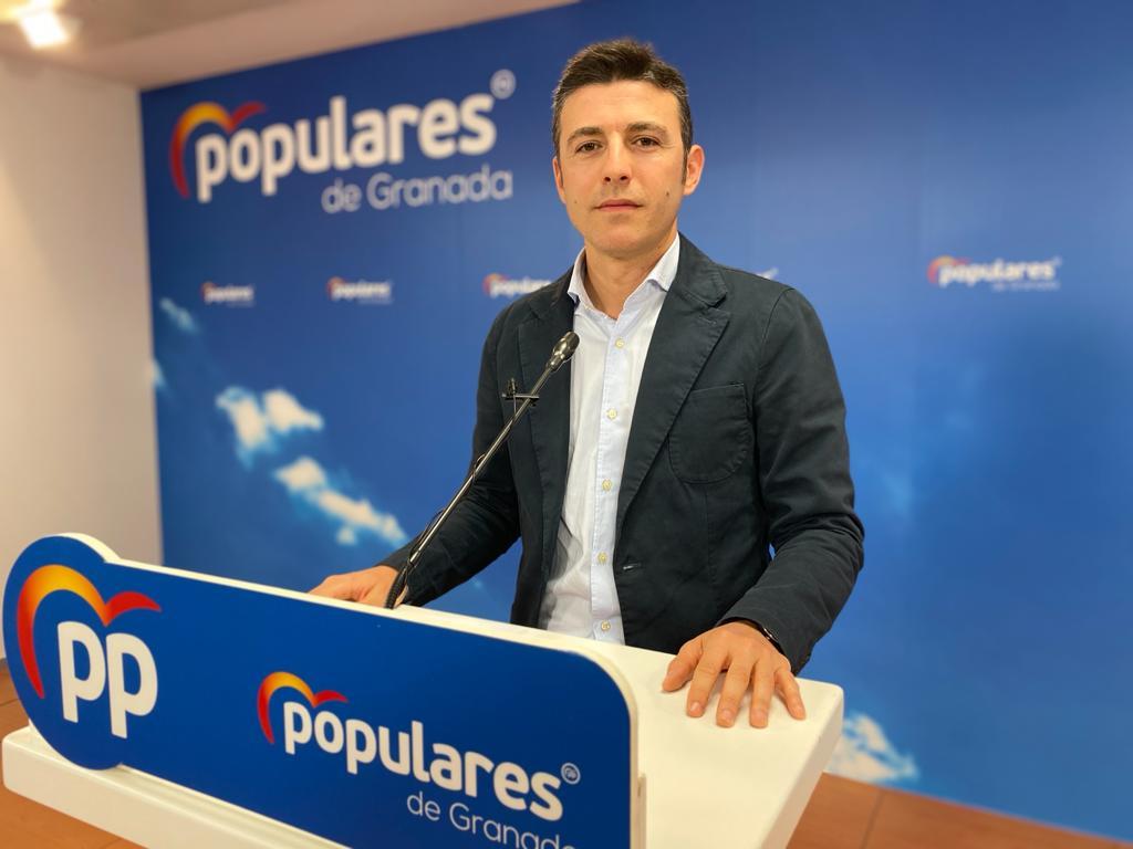 Saavedra (PP) celebra los planes de reactivación económica del gobierno andaluz