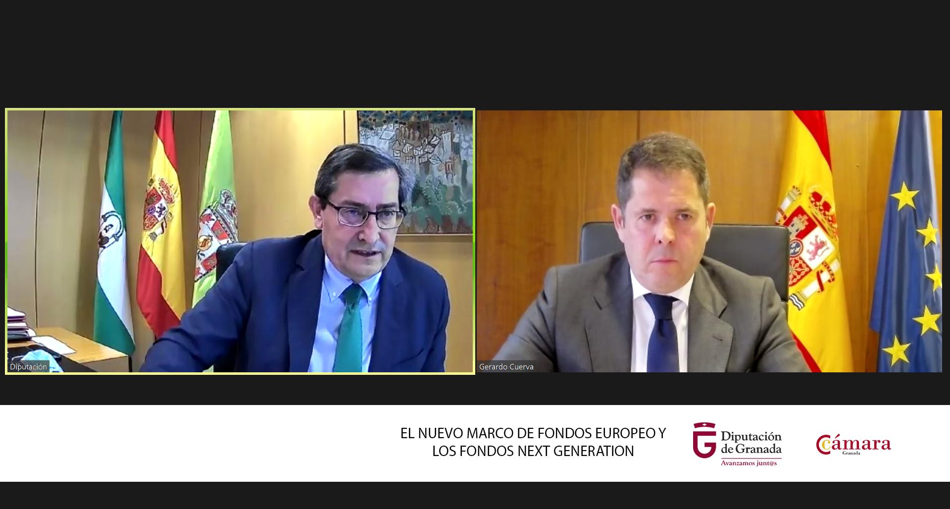 Diputación y Cámara buscan aunar esfuerzos para captar fondos europeos