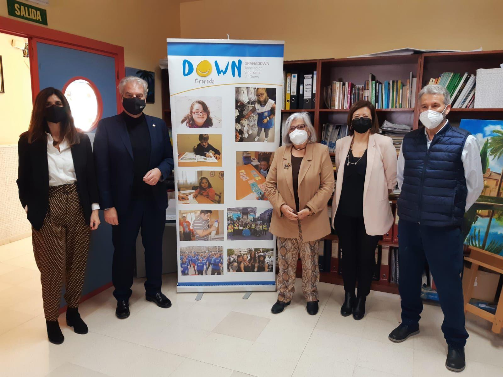 «Que nada nos pare», Granadown conmemora el Día Mundial de Síndrome de Down