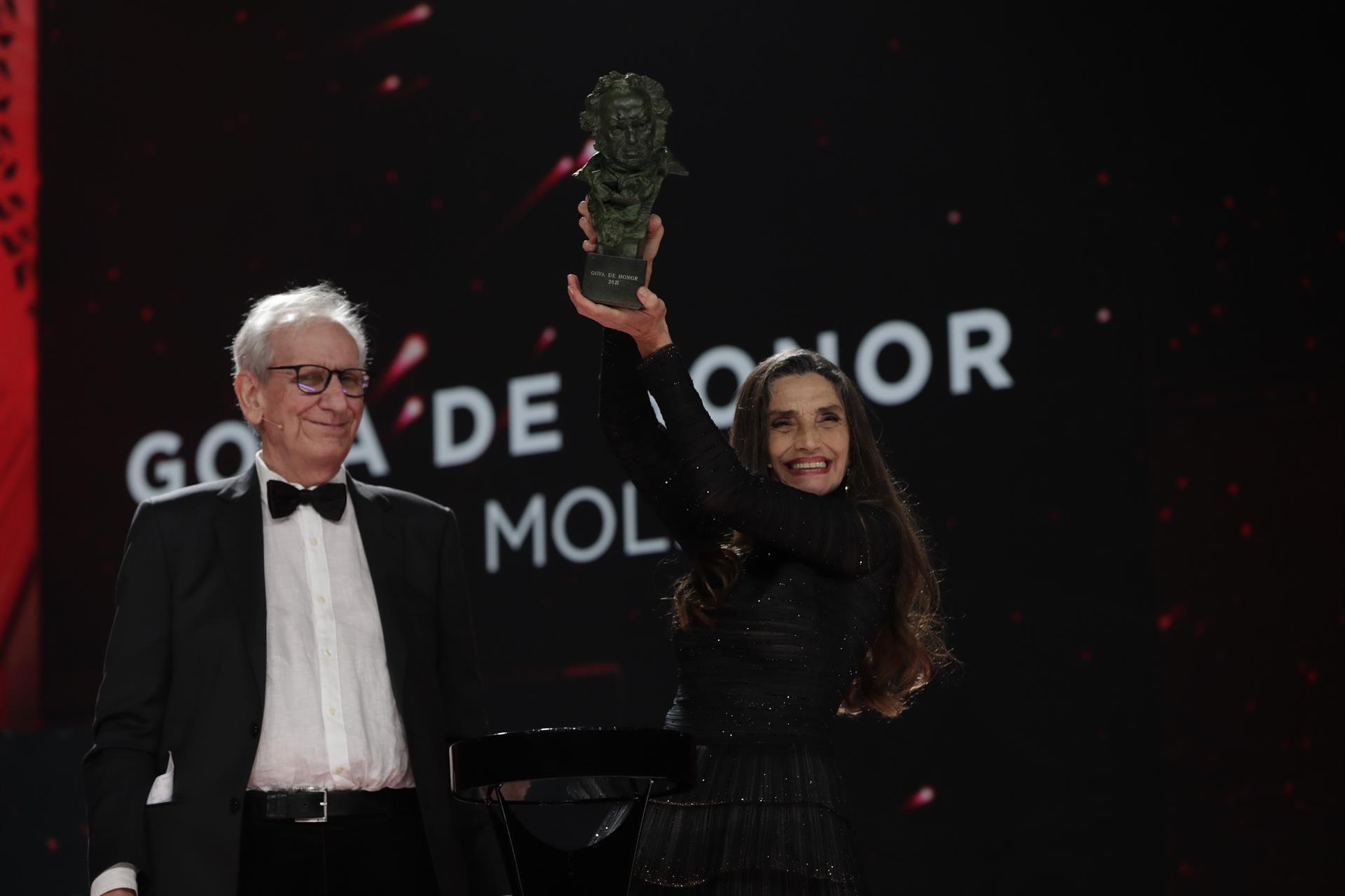 Andalucía despide la celebración de los Goya con una extraordinaria gala