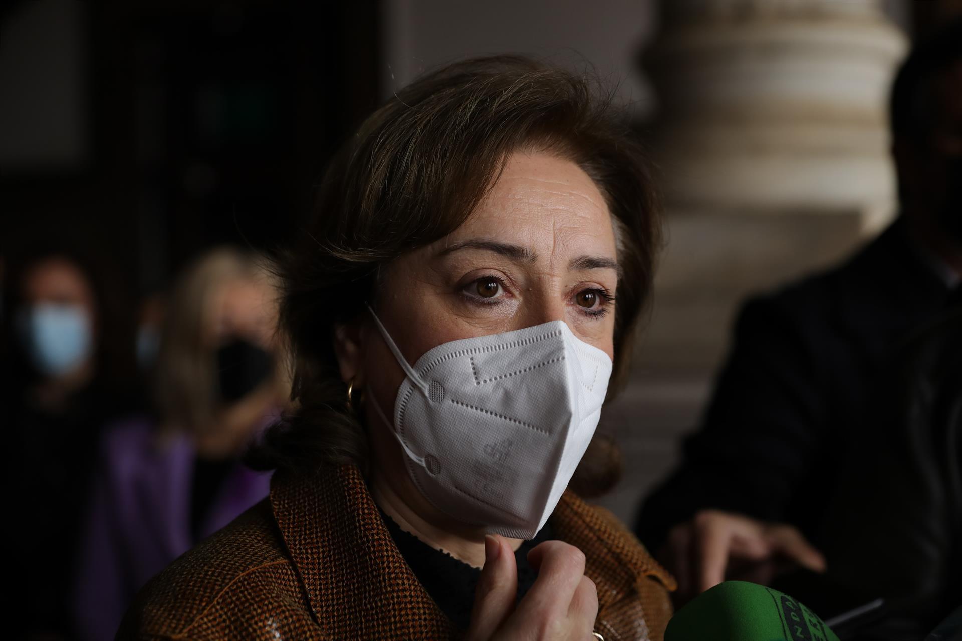 Sandra García, ante el 8M: «Ha habido otras 3.800 concentraciones y es un derecho fundamental»