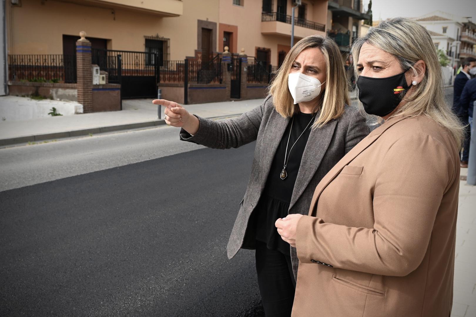 La Junta eliminará un tramo de concentración de accidentes en la travesía de Las Gabias