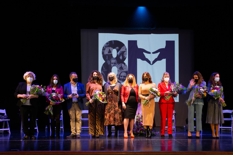 Las Gabias reconoce la labor de mujeres del municipio en la «Gala de la Mujer»