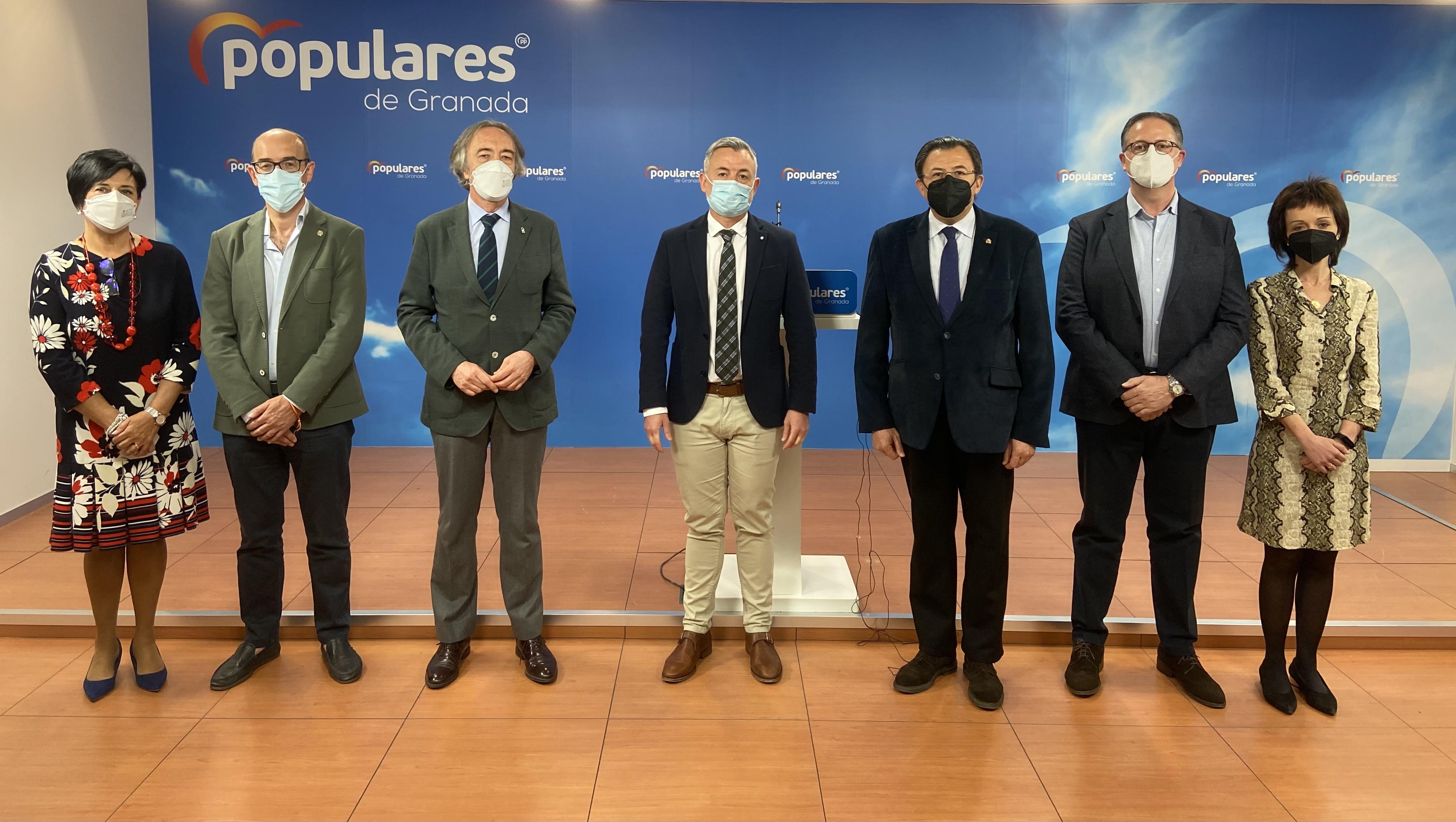 El PP defiende el trabajo del Gobierno Andaluz durante la pandemia