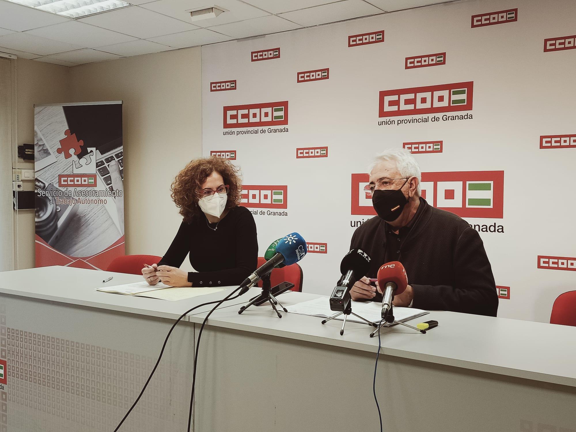 """CCOO avisa al Gobierno andaluz que """"los fondos europeos no pueden acabar en manos de la especulación"""""""