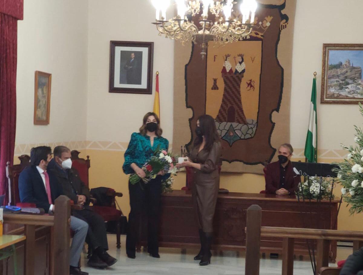 Montefrío recuerda en este 8M a la dueña de 'Tejidos Nati', fallecida en 2020
