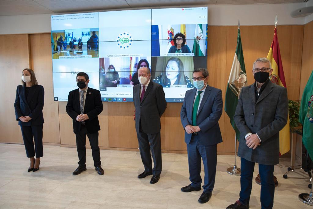 Entrena preside la constitución de la Subcomisión de ELAs de la Federación Andaluza de Municipios