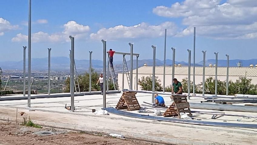 Monachil ultima la construcción de un vivero de plantas para para cubrir las necesidades muncipales