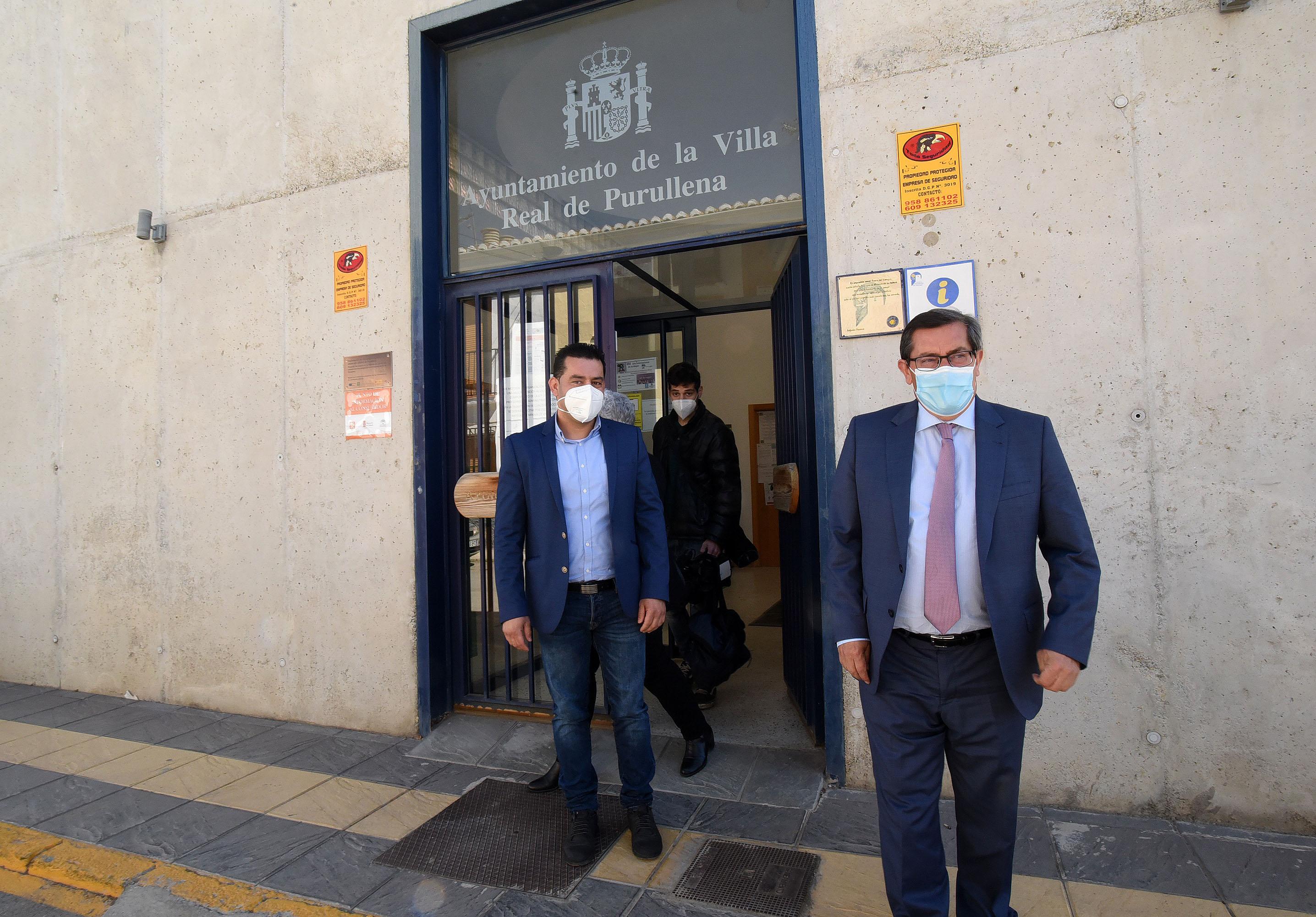 Invierten 120.000 euros en actuaciones del ciclo integral del agua en Purullena