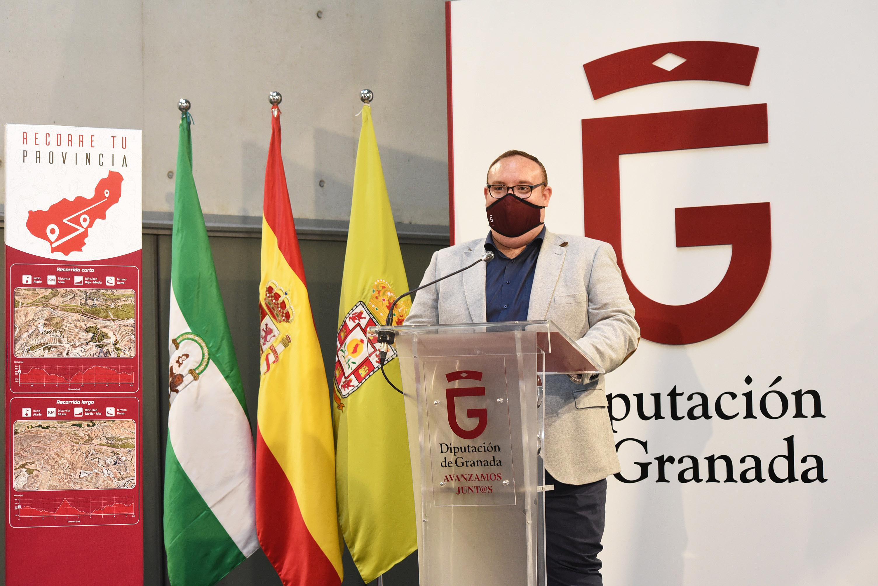 Diputación diseña un gran programa deportivo anticovid con rutas en 22 municipios de la provincia
