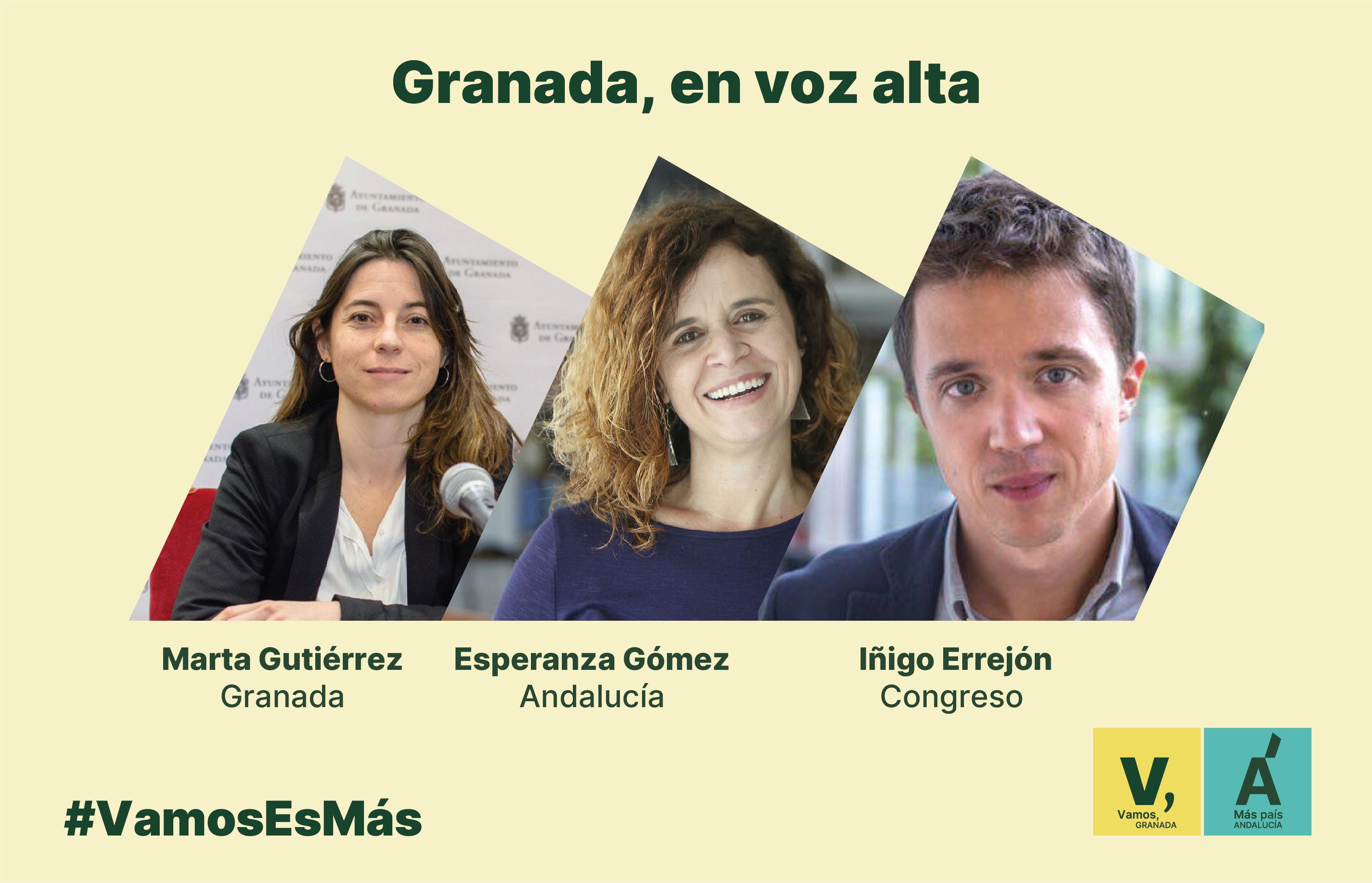 Vamos Granada y Más País Andalucía unen sus fuerzas en la capital