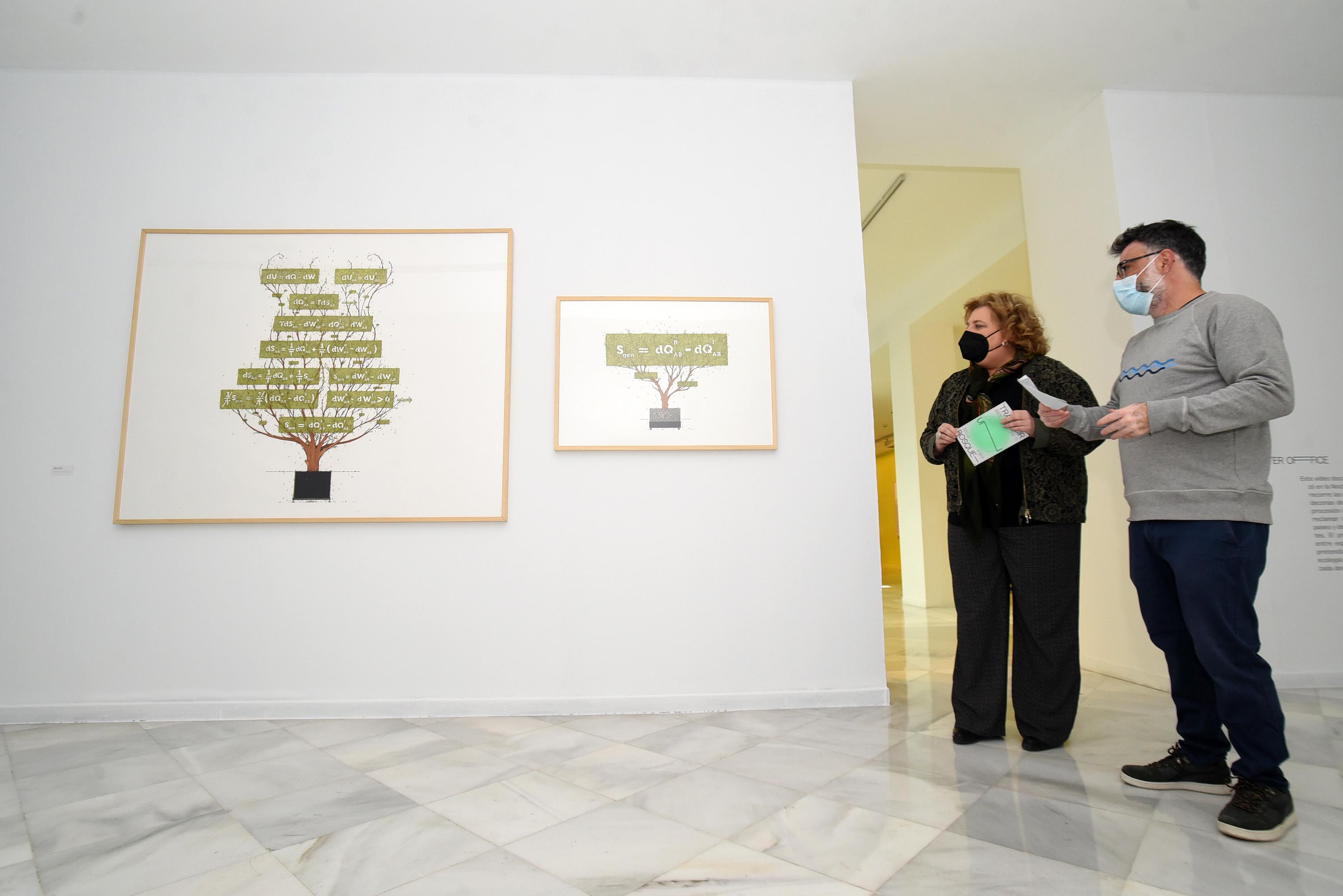 Condes de Gabia acoge una novedosa exposición interactiva que aborda la relación entre el ser humano y la naturaleza