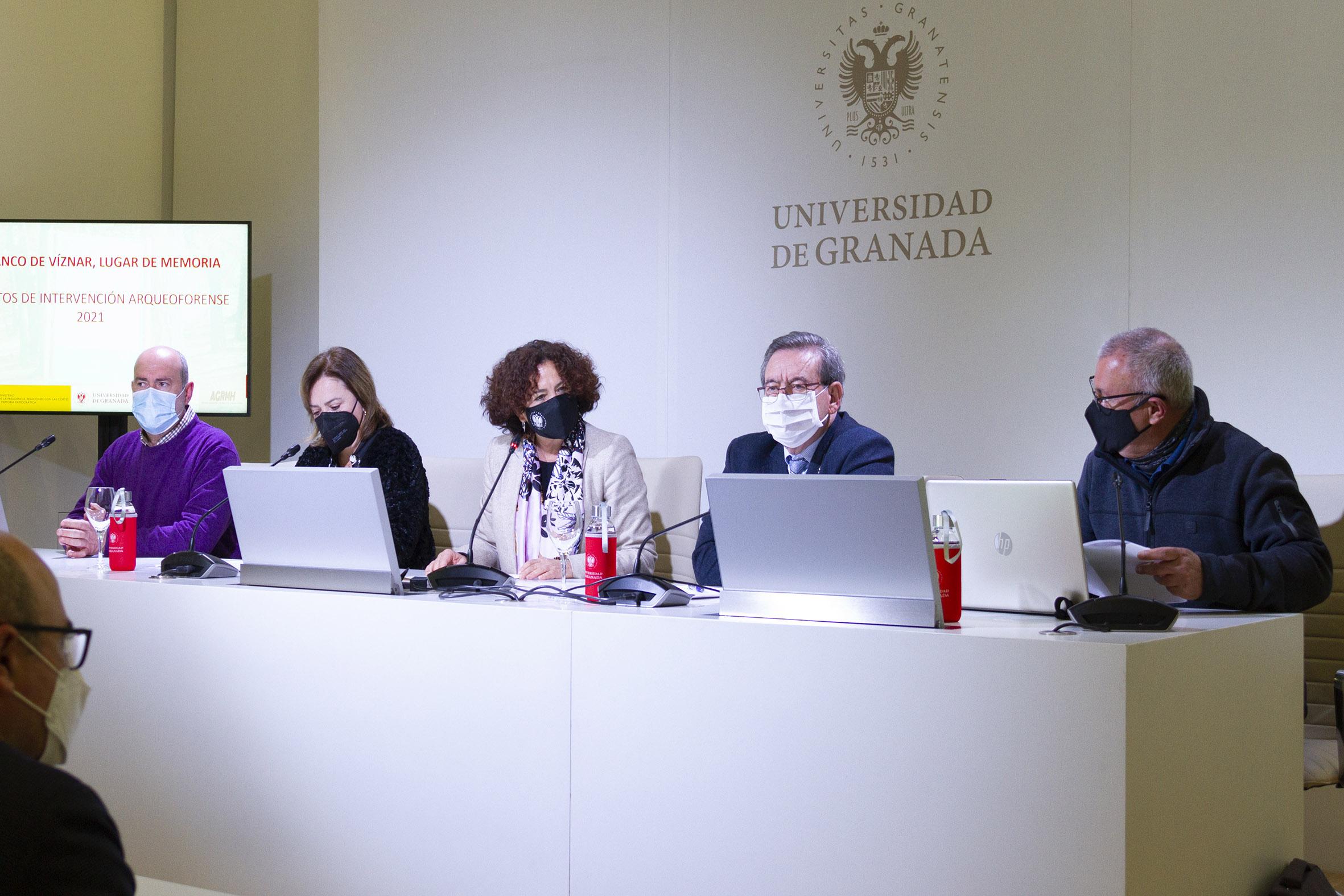 """La UGR presenta el proyecto """"Barranco de Víznar, Lugar de Memoria"""""""