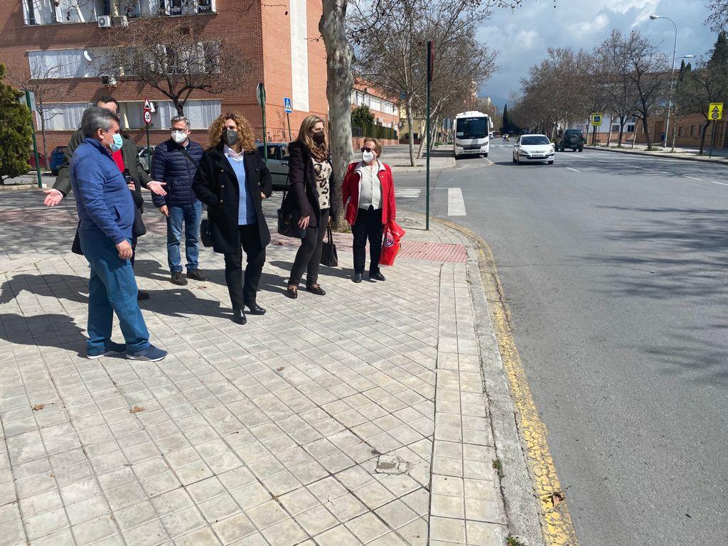 VOX se reúne con los vecinos de Joaquina Eguaras