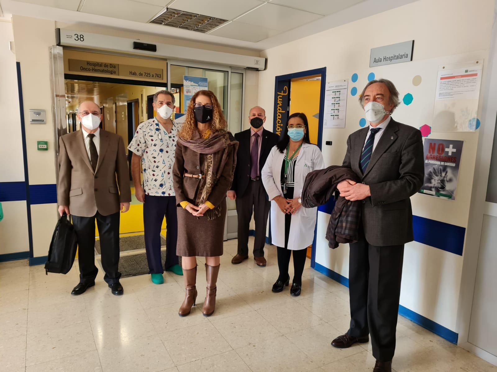 Educación destina 11.000 euros para reforzar las aulas hospitalarias de Granada