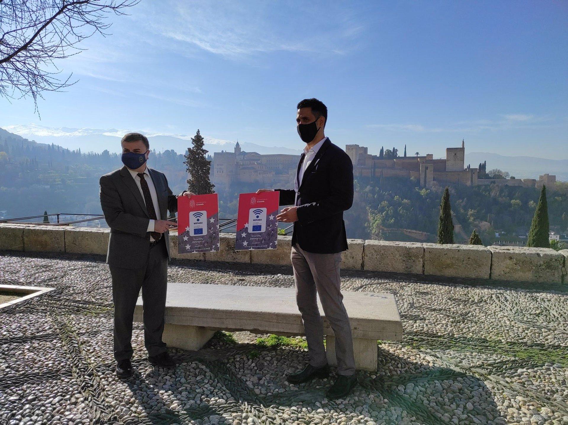 Innovasur instalará 73 puntos de acceso a WiFi gratuitos en Granada