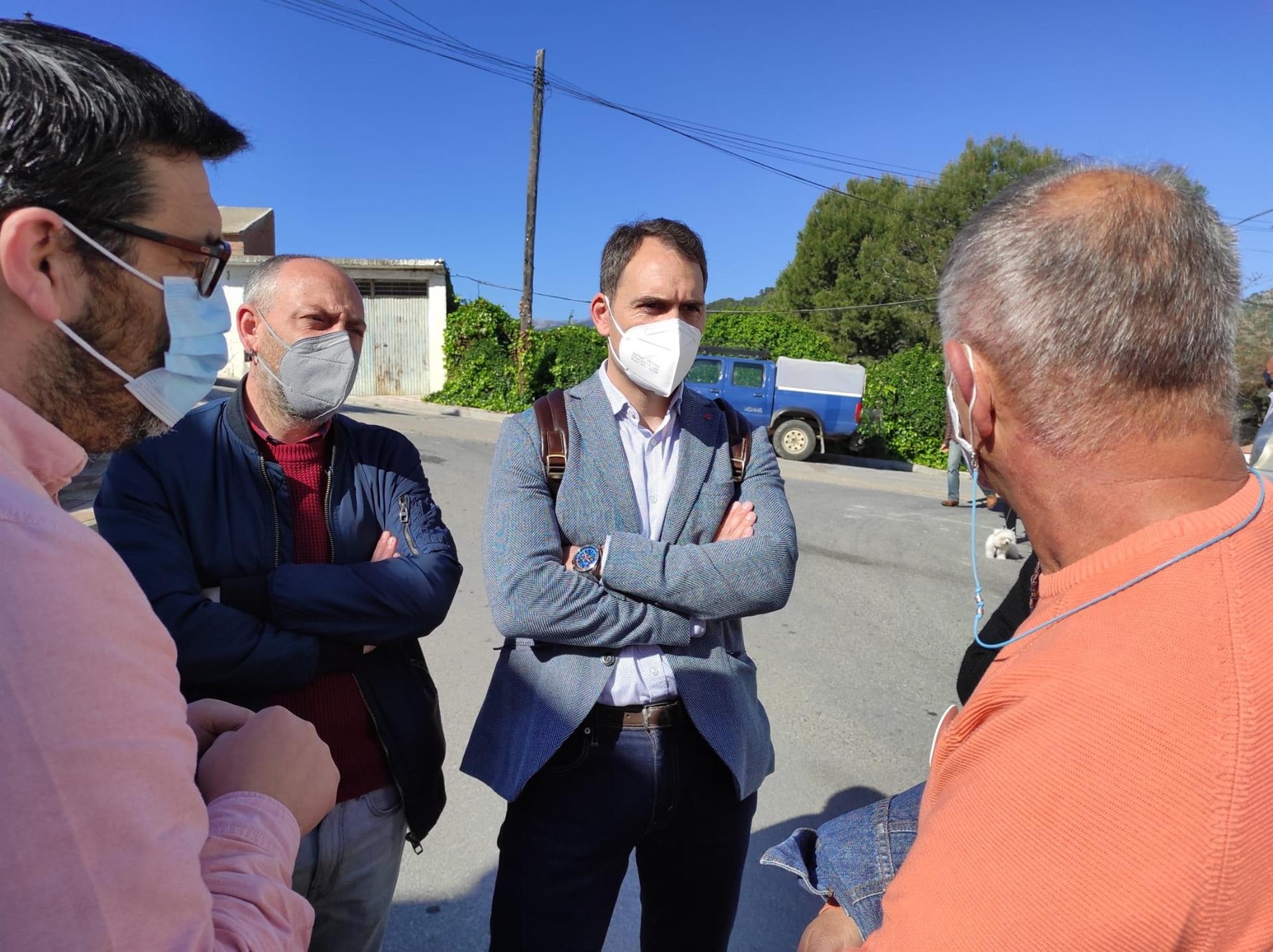 Valero ve «vergonzante» que Moreno siga sin pedir el acta a Arenas «y mire a otro lado cuando declara por corrupción»