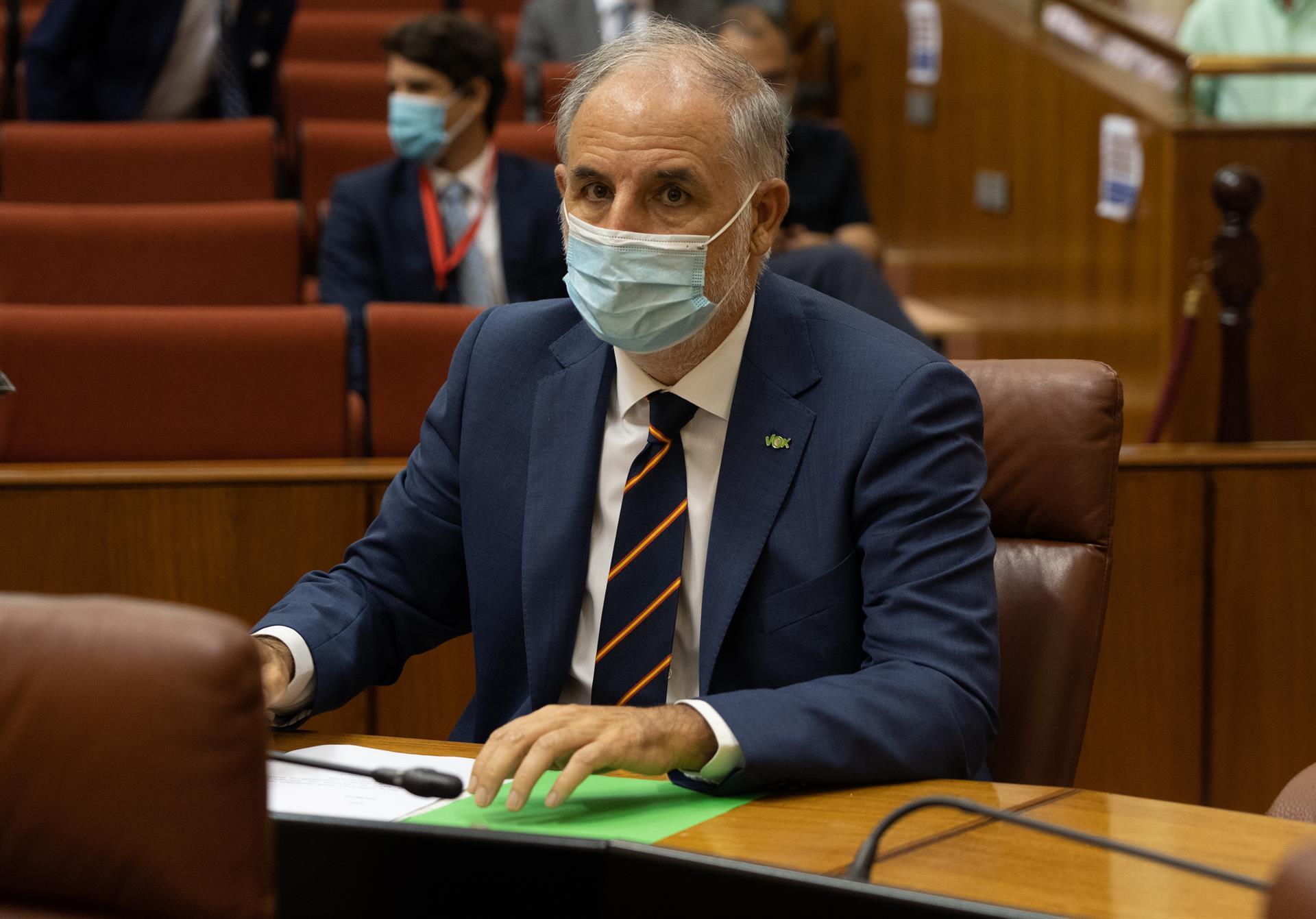 Vox pide a Moreno que «asuma de una vez su responsabilidad» y garantice espectáculos taurinos con un 50% de aforo