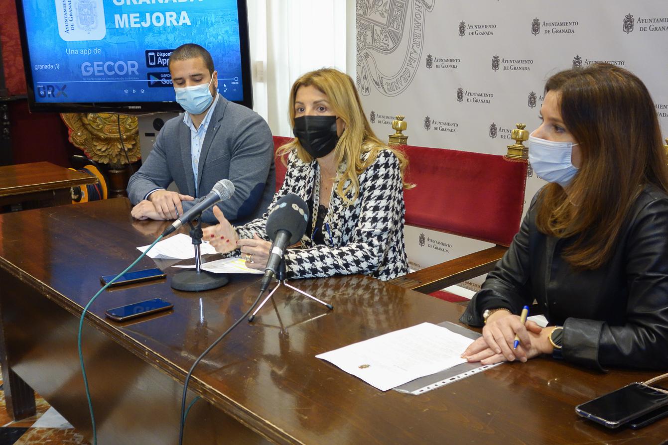 El Ayuntamiento atiende en un año más de 24.000 avisos a través de la App «Granada Mejora»