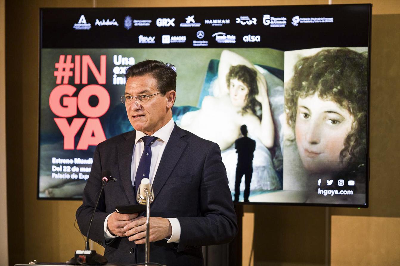El alcalde destaca la «programación cultural diaria» de la ciudad, en la presentación de 'InGoya'