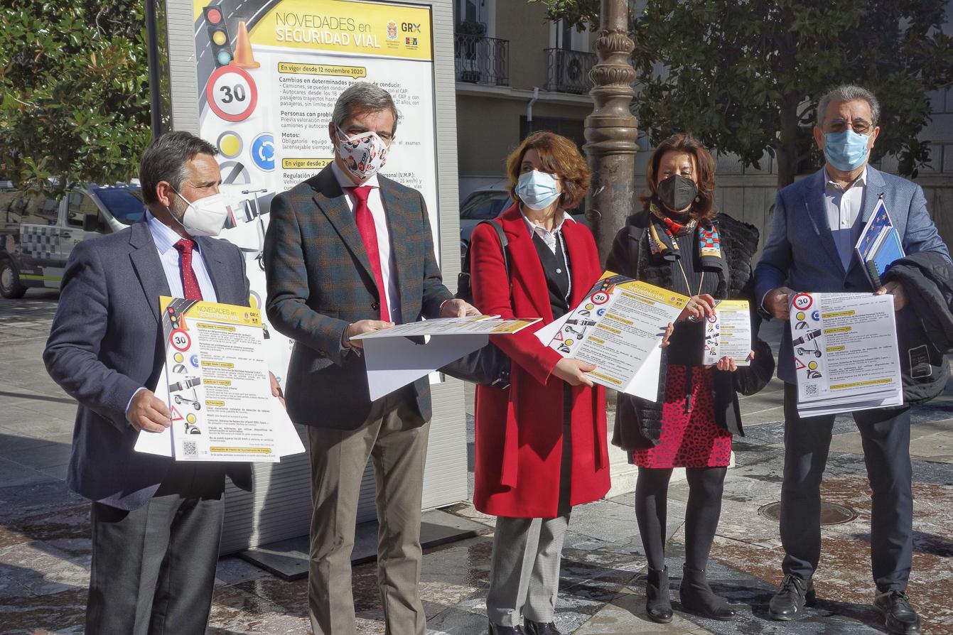 Campaña municipal para informar sobre seguridad vial