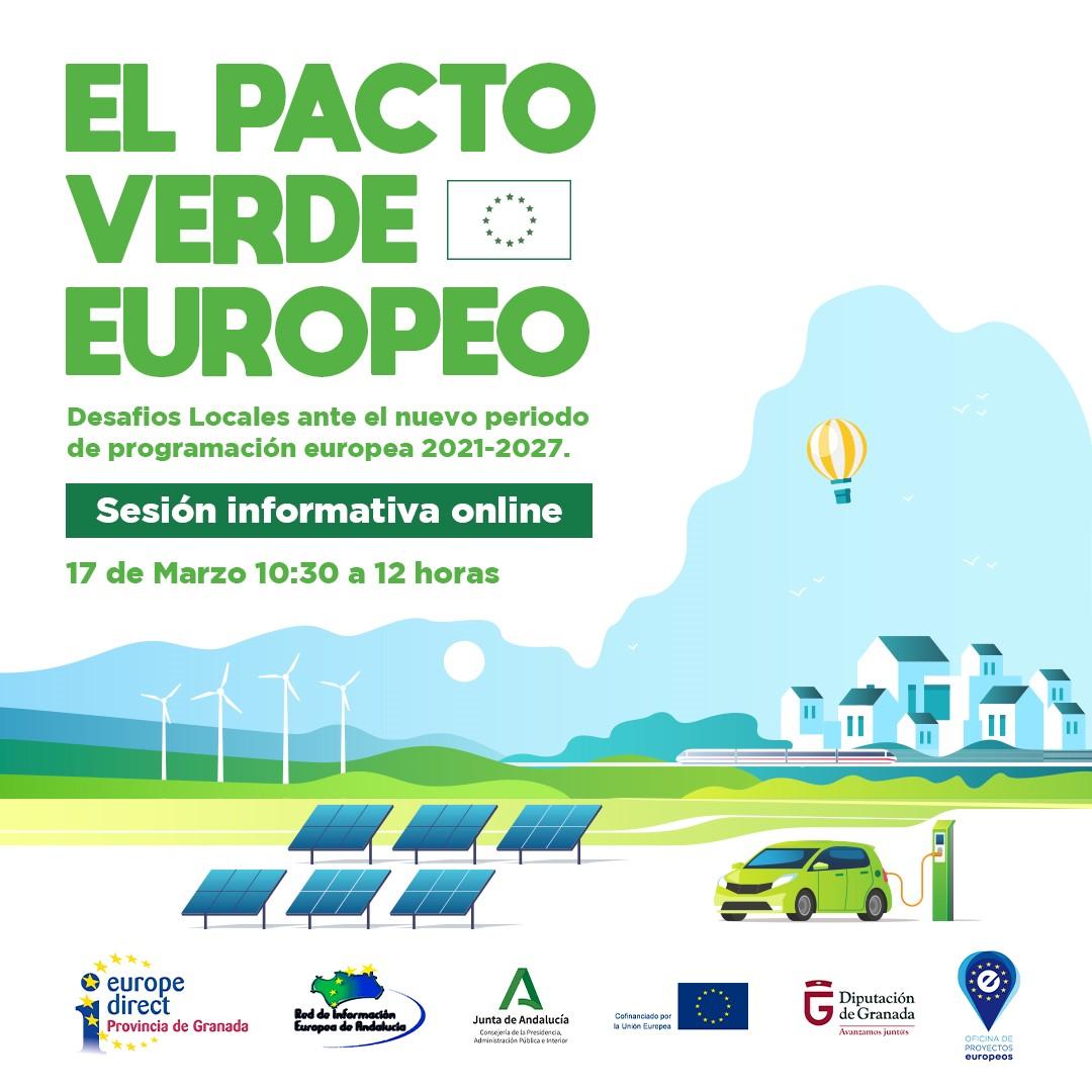 Diputación organiza una jornada para dar a conocer el Pacto Verde Europeo