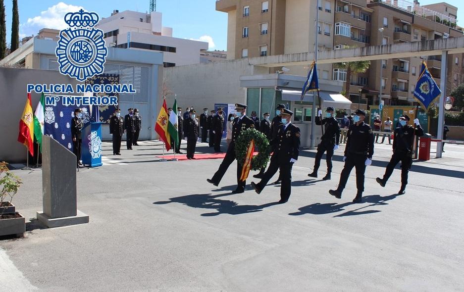 La Policía Nacional celebra en Granadael acto de jura del cargo de agentes ascendidos a Inspectores Jefes