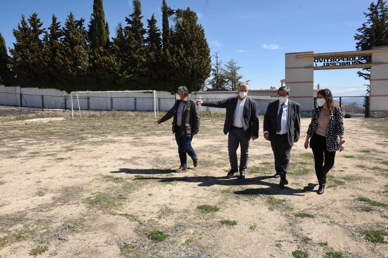Diezma proyecta un gran espacio polideportivo que contará con financiación de Diputación