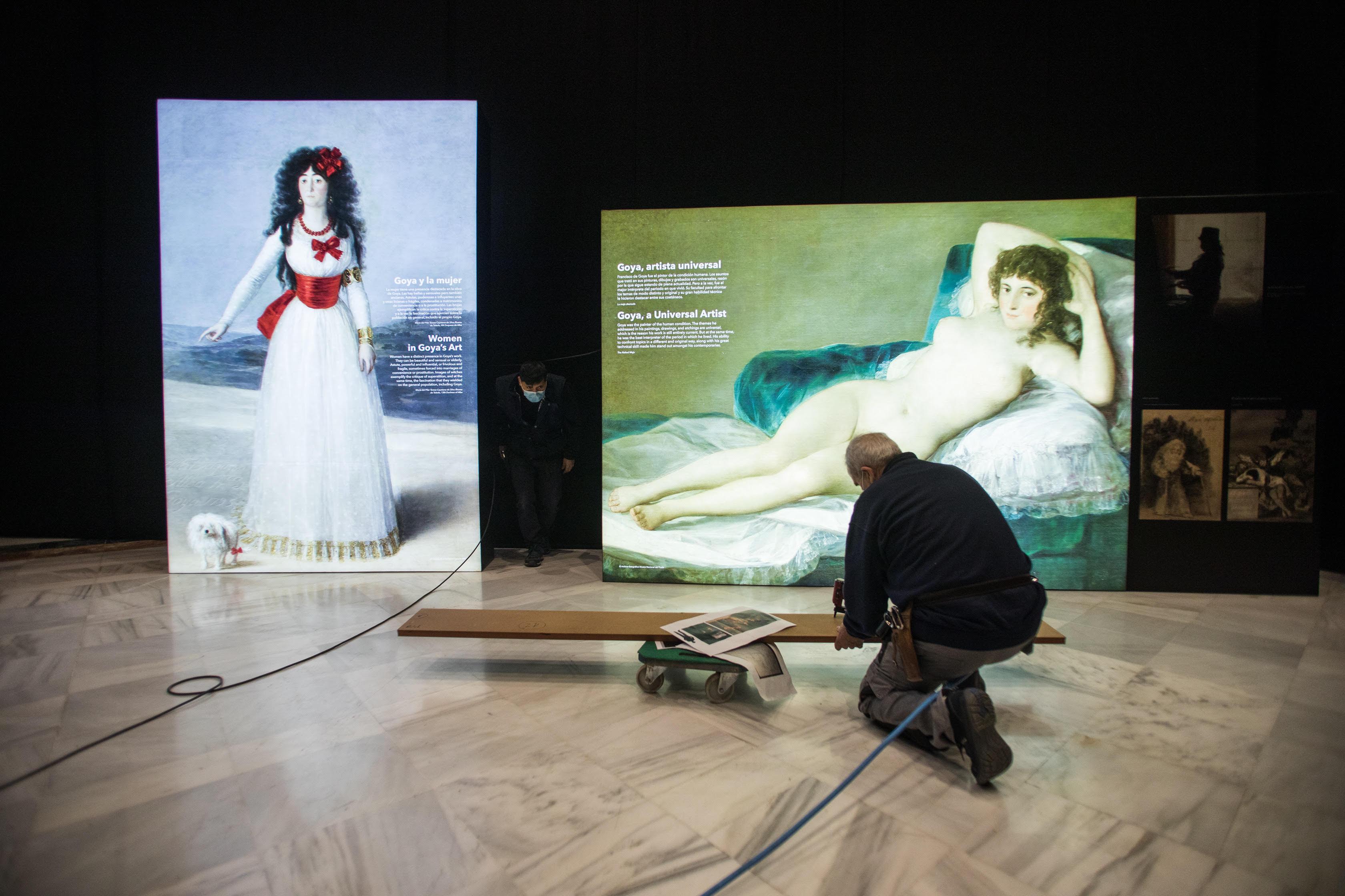 La exposición inmersiva #INGOYA podrá verse en Granada desde el 22 de marzo