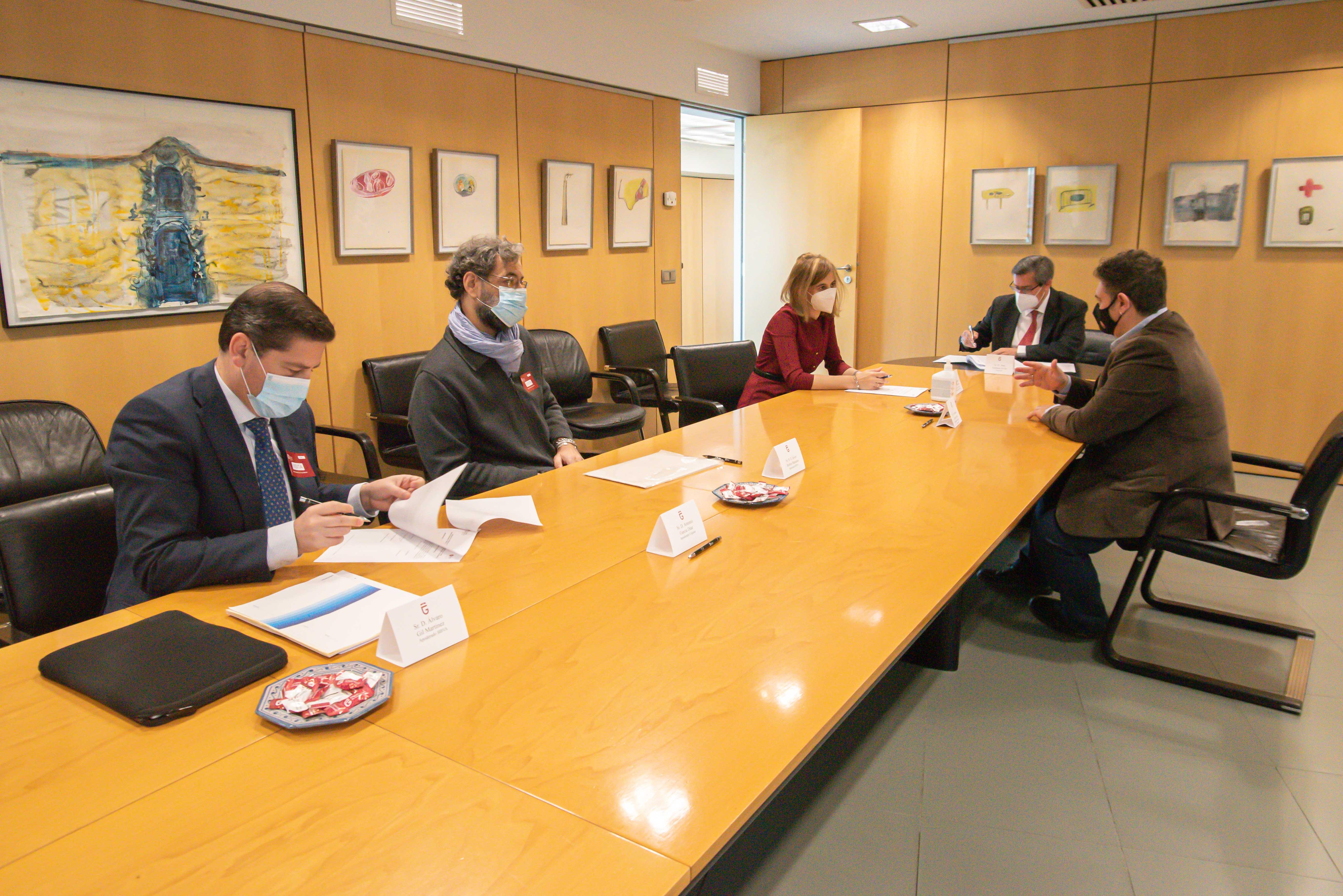 Diputación firma una operación de tesorería con Caja Rural, Cajasur, Banco Sabadell y BBVA
