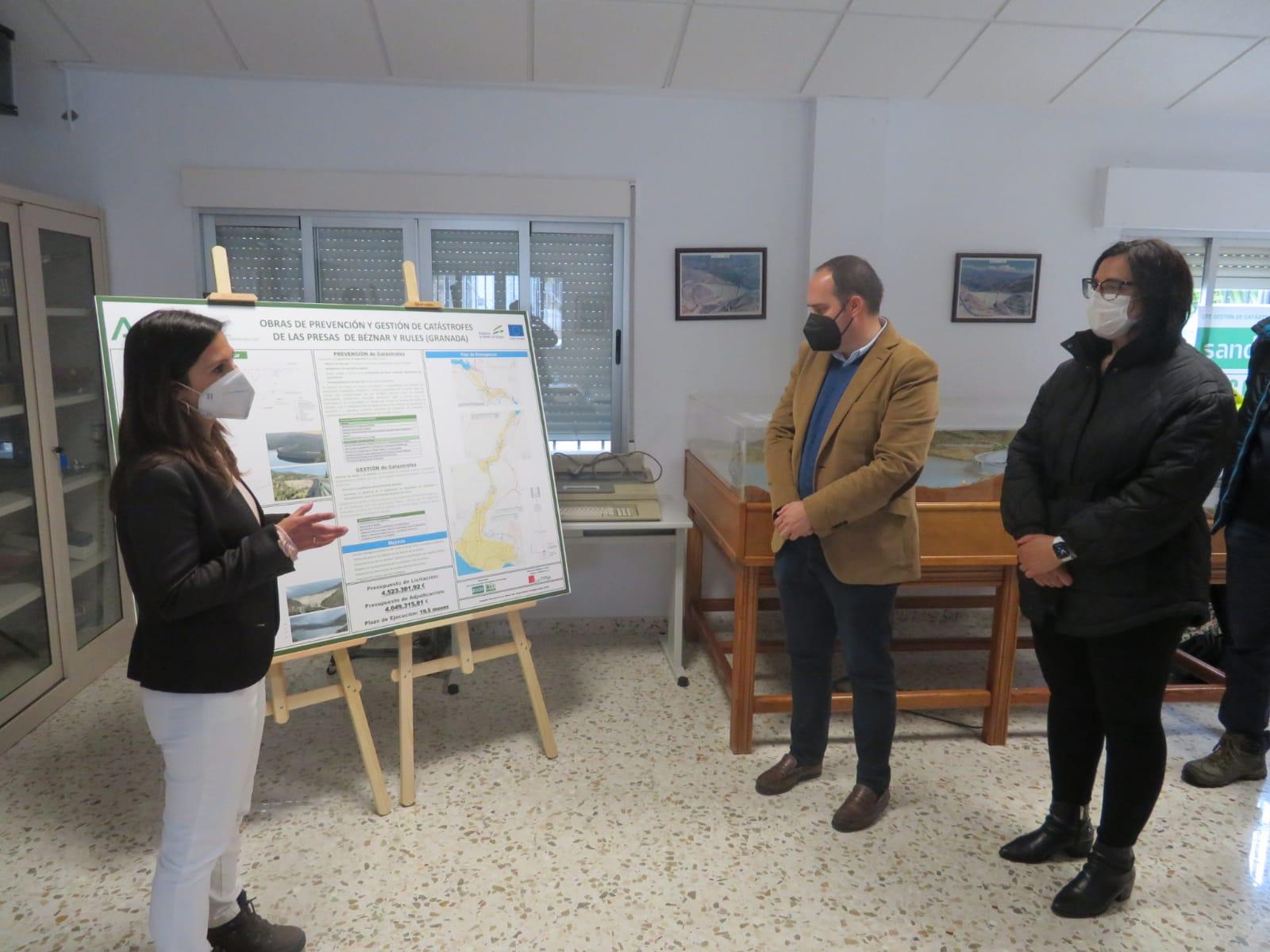 Las presas de Béznar y Rules contarán con una inversión de 4 millones de euros para mejorar la seguridad