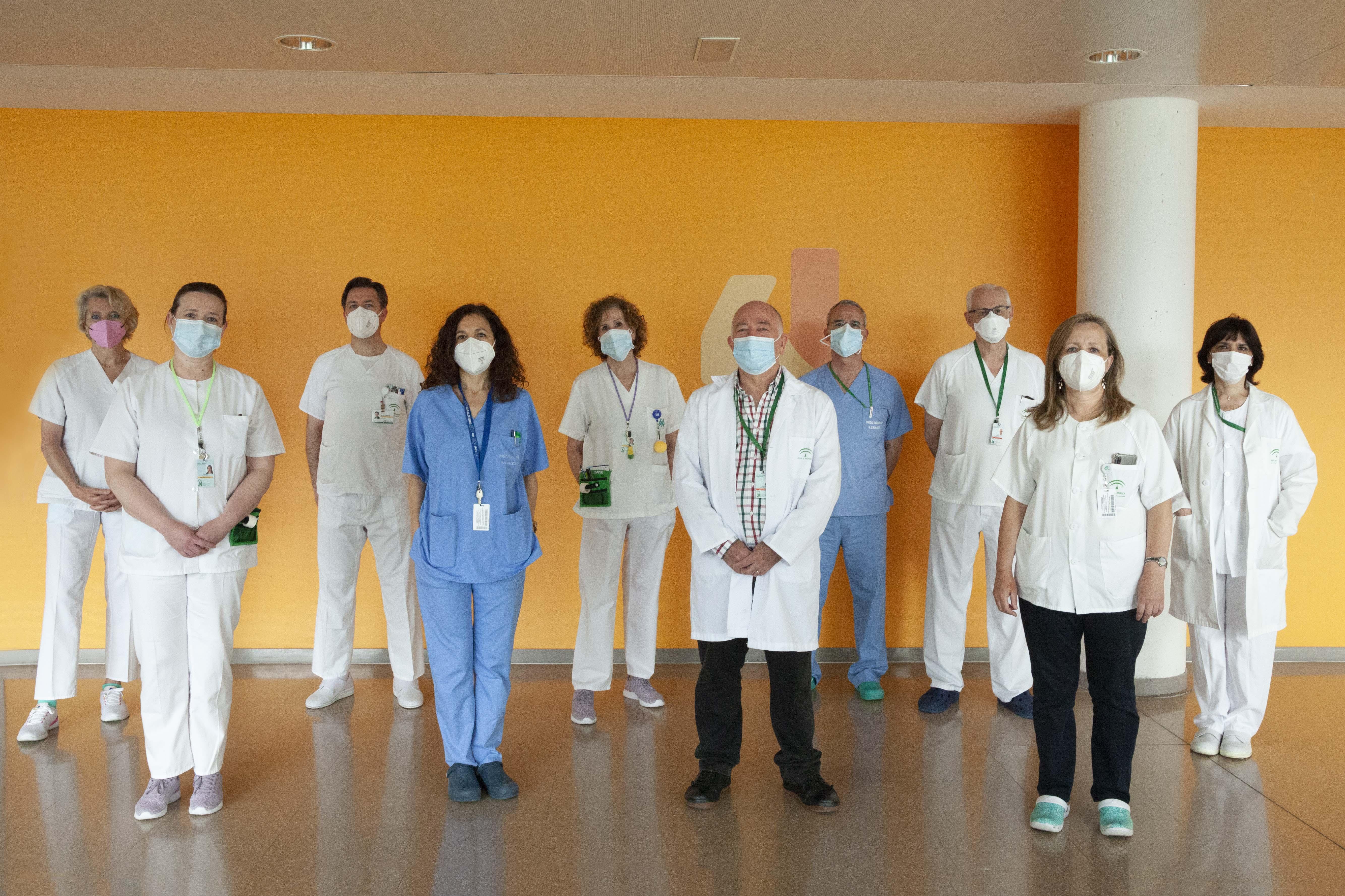 El Clínico se iluminará hoy de verde y naranja para conmemorar el Día Nacional de la Fibrosis Quística