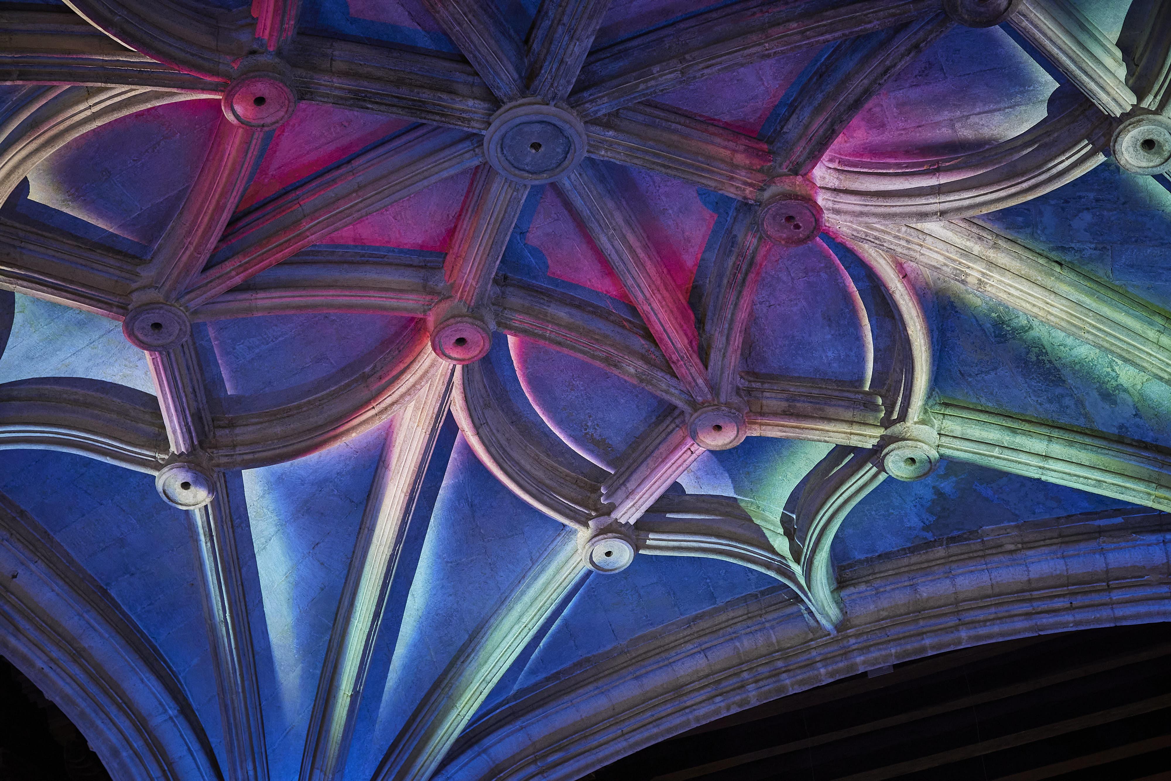 Los espacios patrimoniales de la UGR acogen 'Alumbra', el festival que aúna patrimonio histórico y arte digital