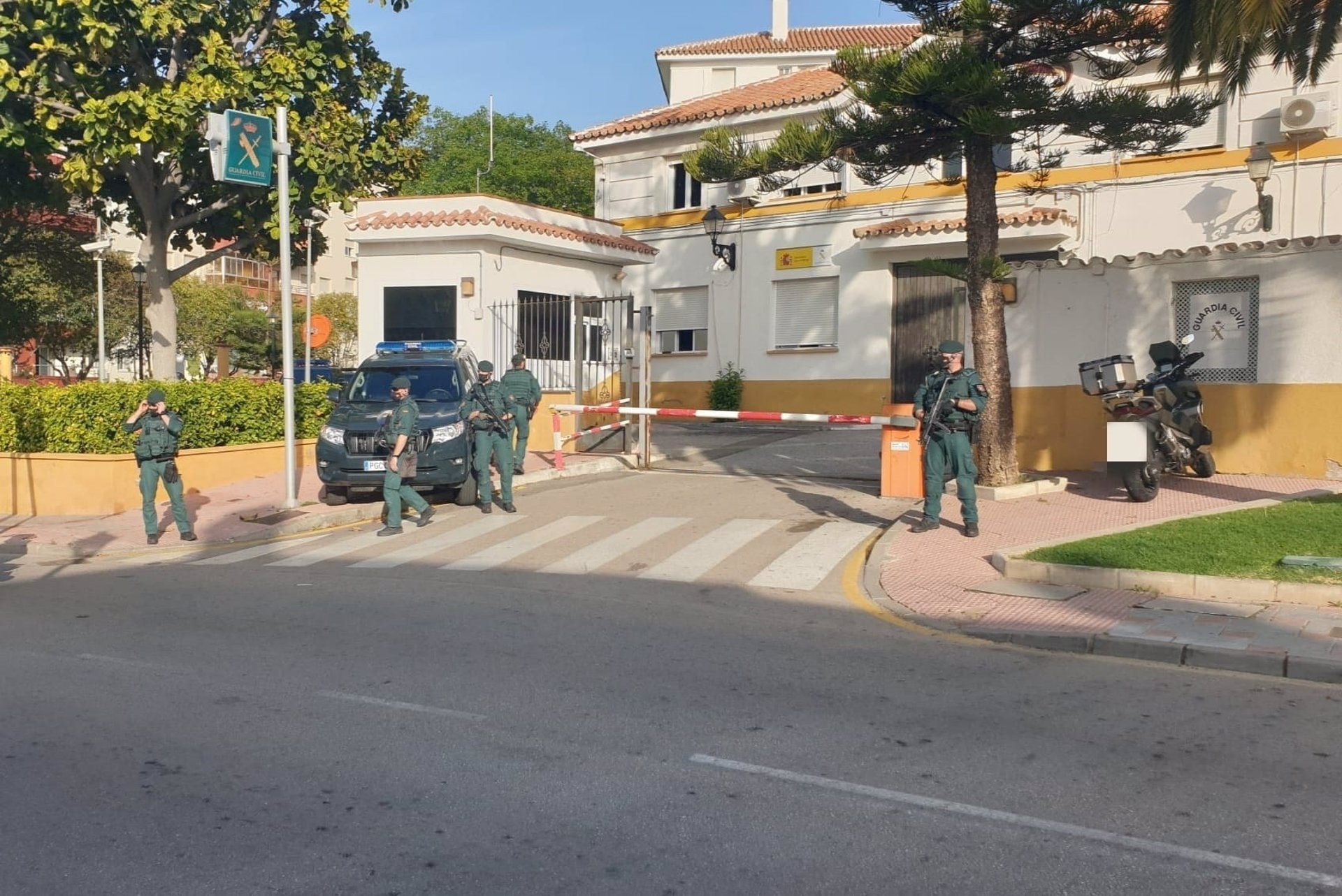 Diez detenidos en una operación contra el tráfico de hachís en las provincias de Málaga, Cádiz y Granada