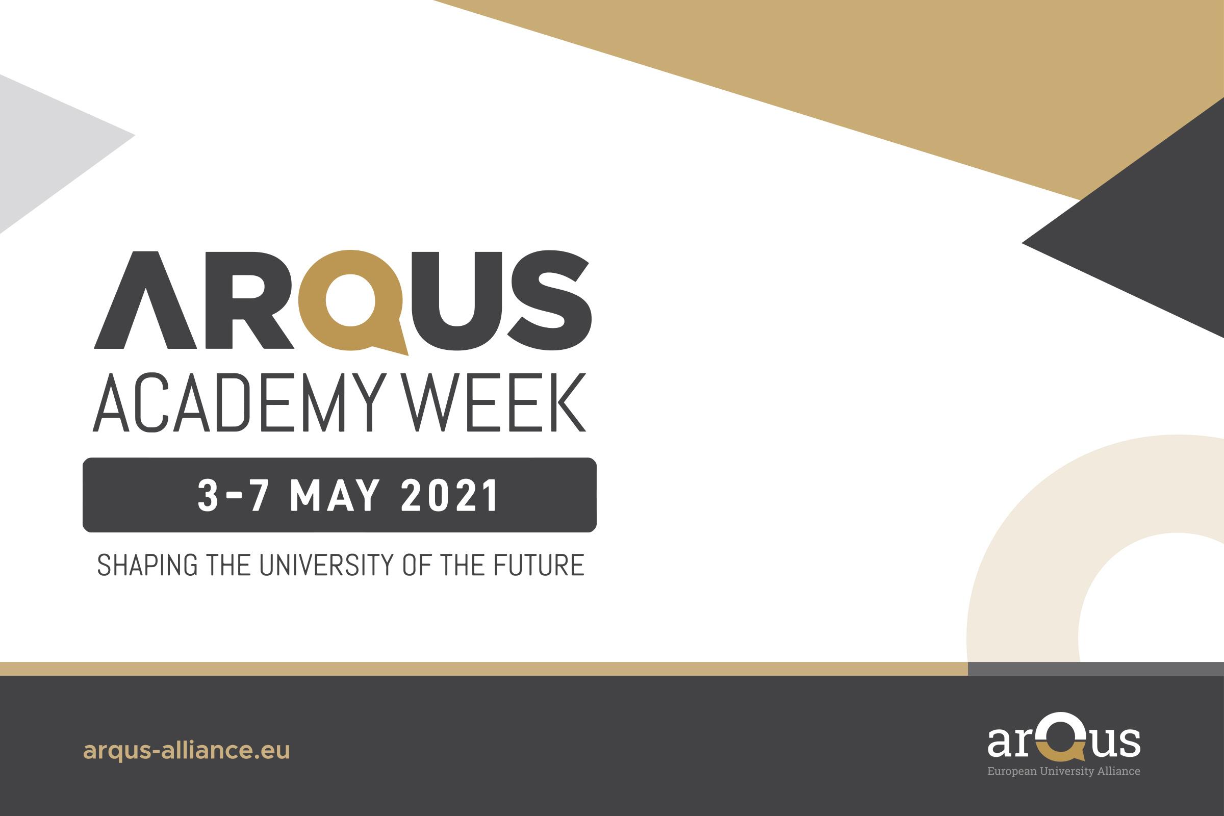 La UGR celebra la primera Arqus Academy Week, una semana de actividades sobre las universidades del futuro