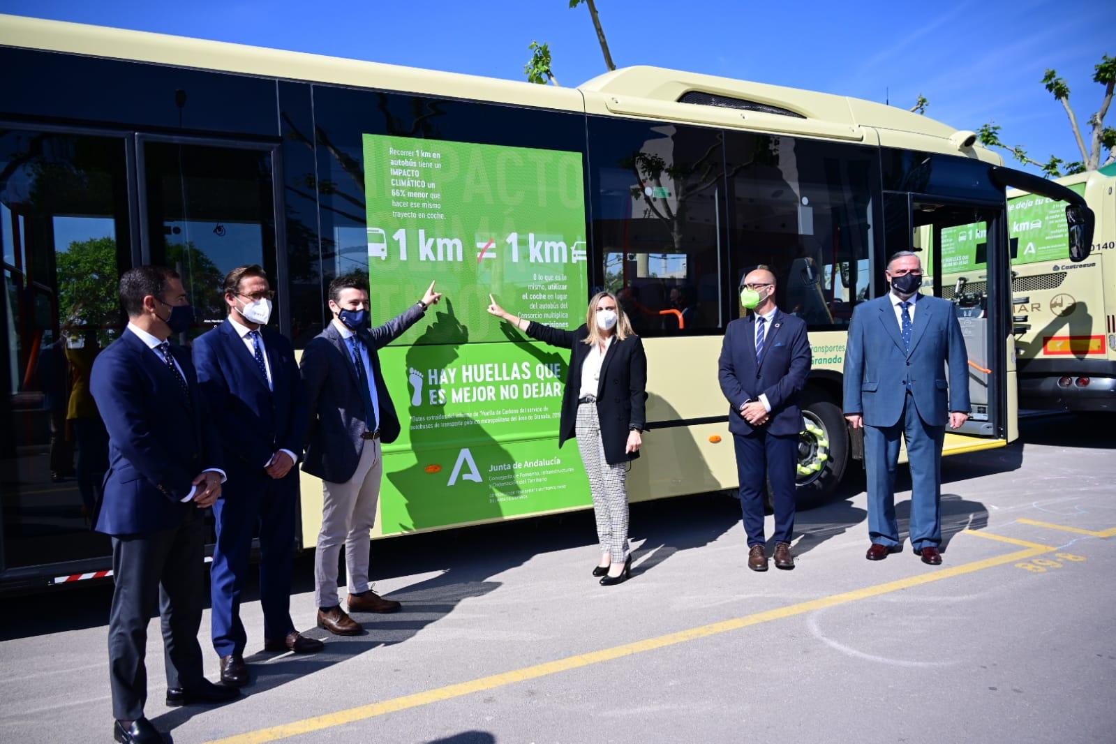 Inician una campaña para reducir emisiones con el uso del transporte público metropolitano