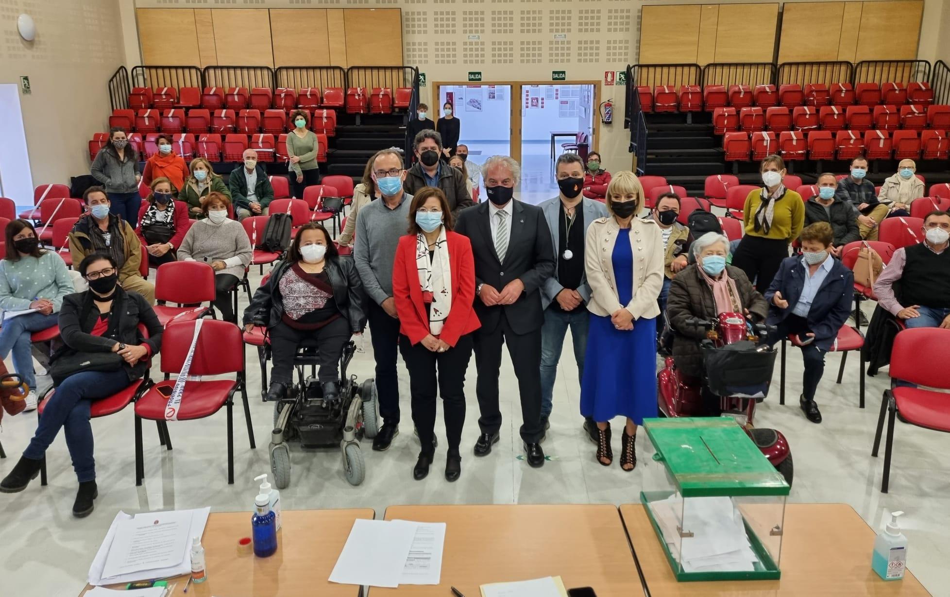 El Consejo Municipal de la Discapacidad nombra a su nueva comisión ejecutiva