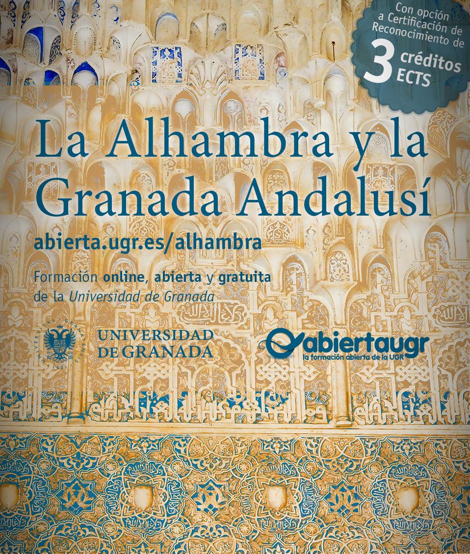 """La UGR ofrece la I edición del MOOC """"La Alhambra y la Granada Andalusí"""""""