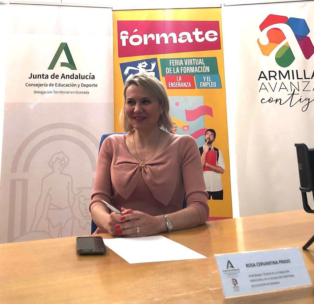 La Delegación de Educación y Deporte participa en la Feria de la Formación y Empleo 'Fórmate'