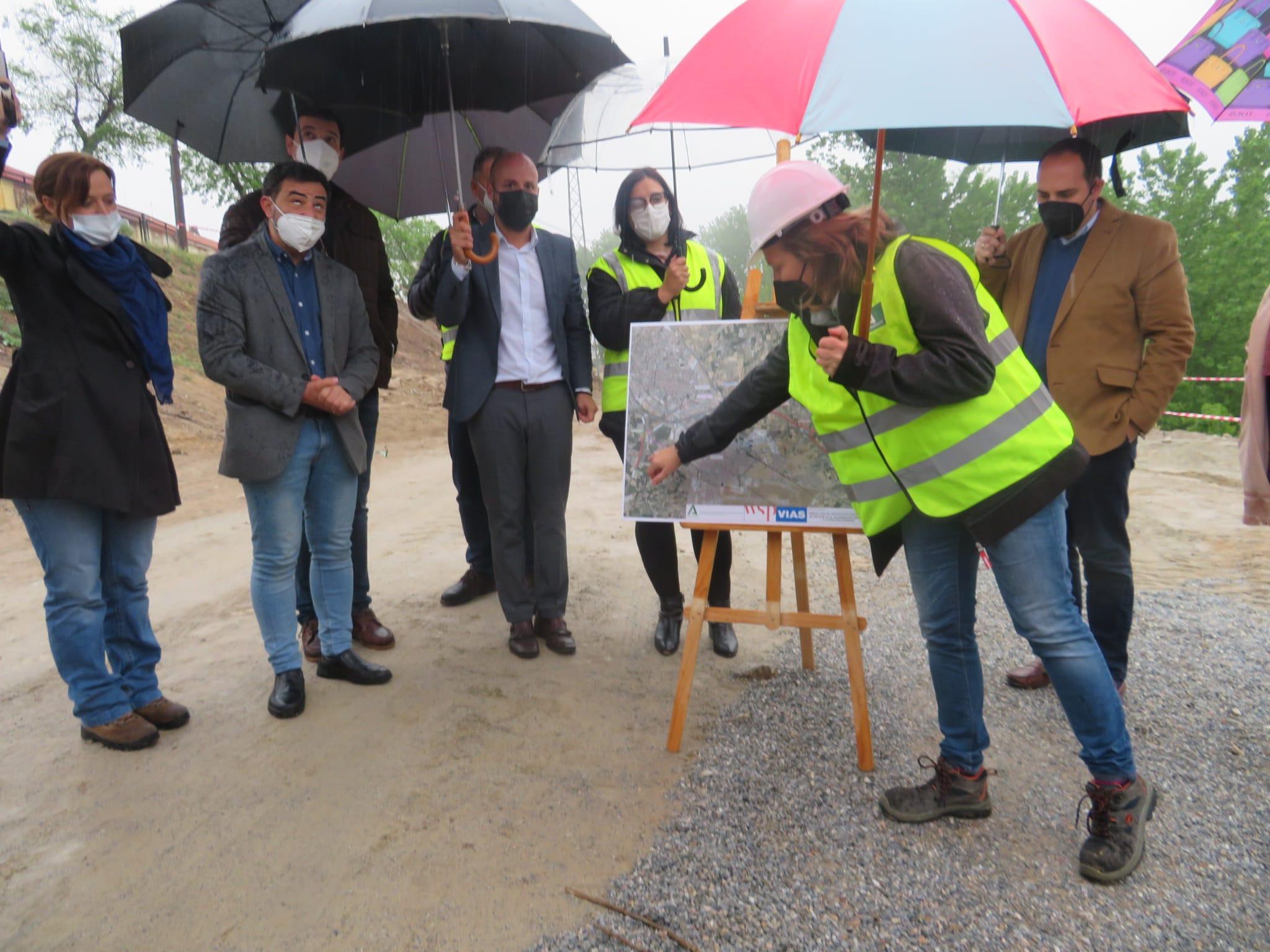 Se inician las obras de la agrupación de vertidos de la depuradora Sur de Granada