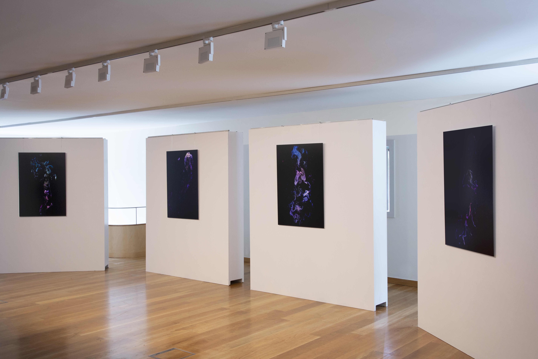 Cristina Beltrán expone 'Láser Turbulenta', una muestra artística en la que el vacío se hace visible
