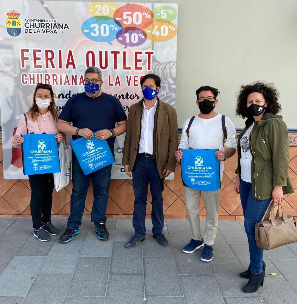 La I Feria Outlet de Churriana implica a más de 100 comercios del municipio