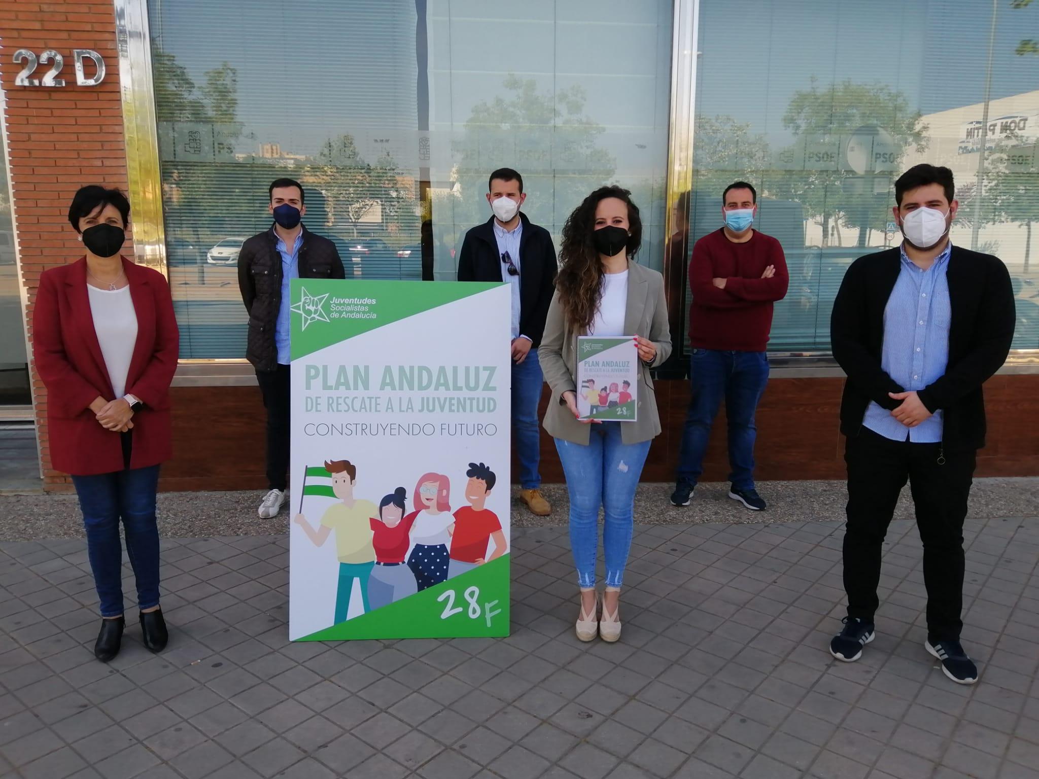 """Juventudes Socialistas plantea 165 medidas para poner fin a las """"nefastas"""" políticas de la Junta"""