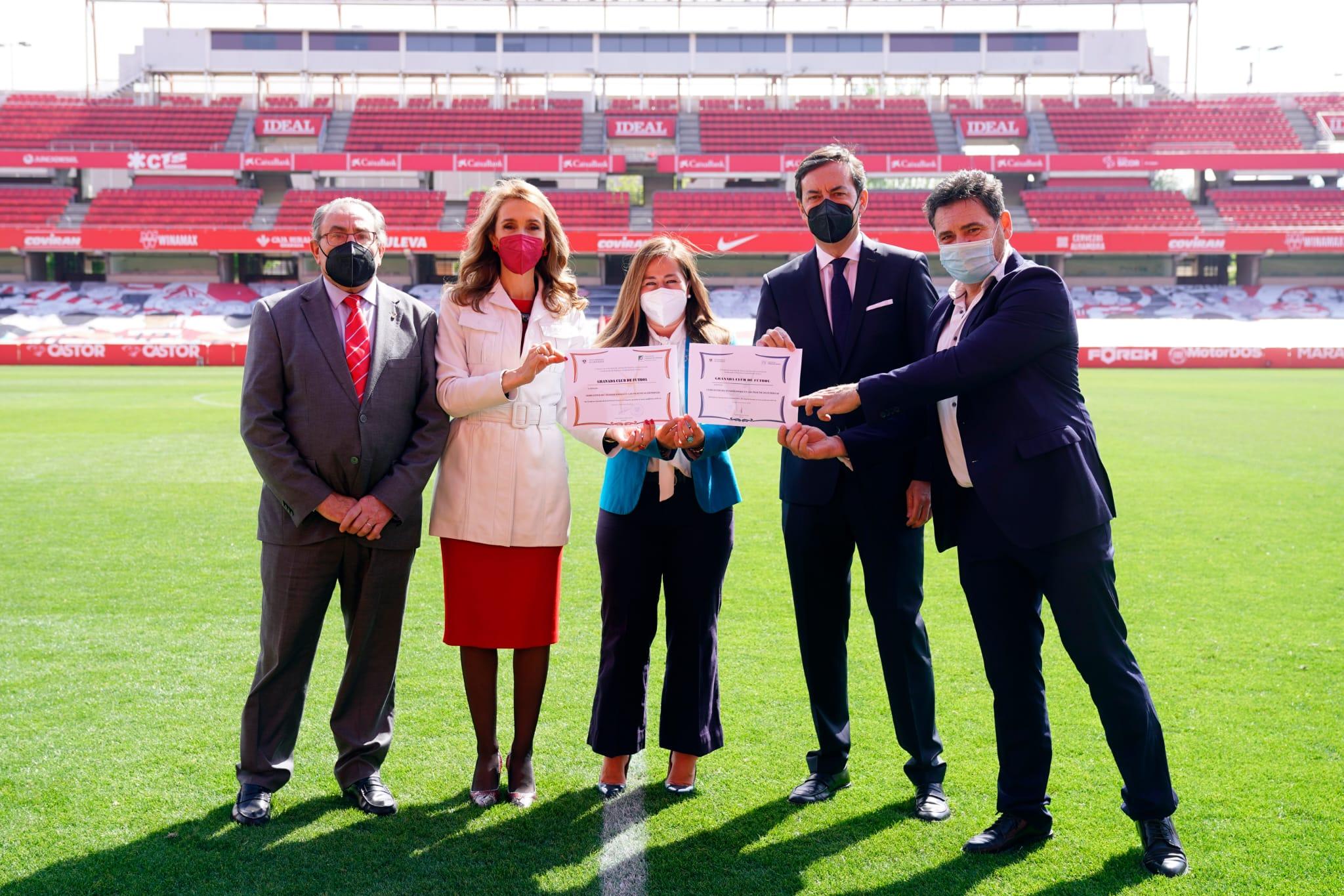 La Facultad de Ciencias del Deporte reconoce la labor de las entidades colaboradoras en prácticas externas