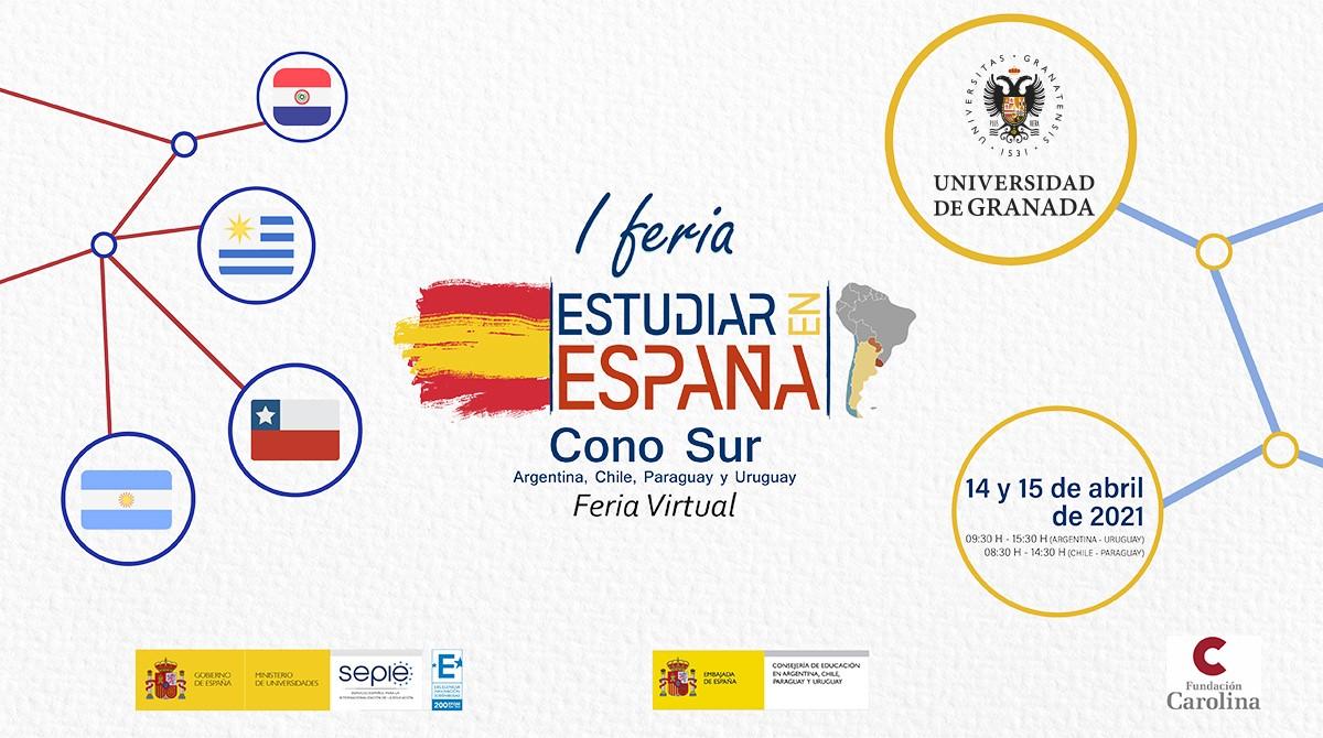 La UGR participa en la feria 'Estudiar en España', en el Cono Sur de América Latina