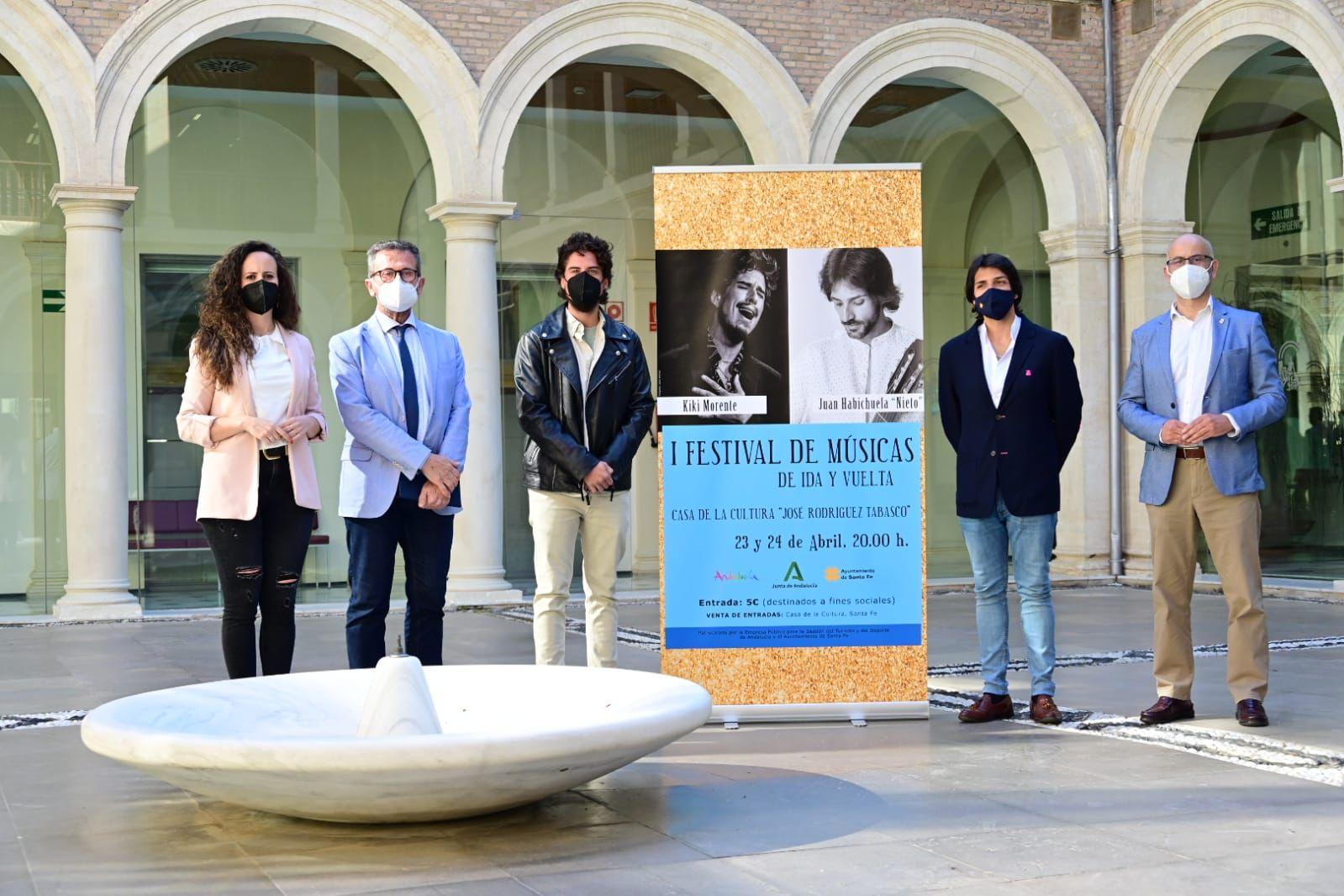 Turismo impulsa el I Festival de Músicas de ida y vuelta en el marco de las Capitulaciones de Santa Fe