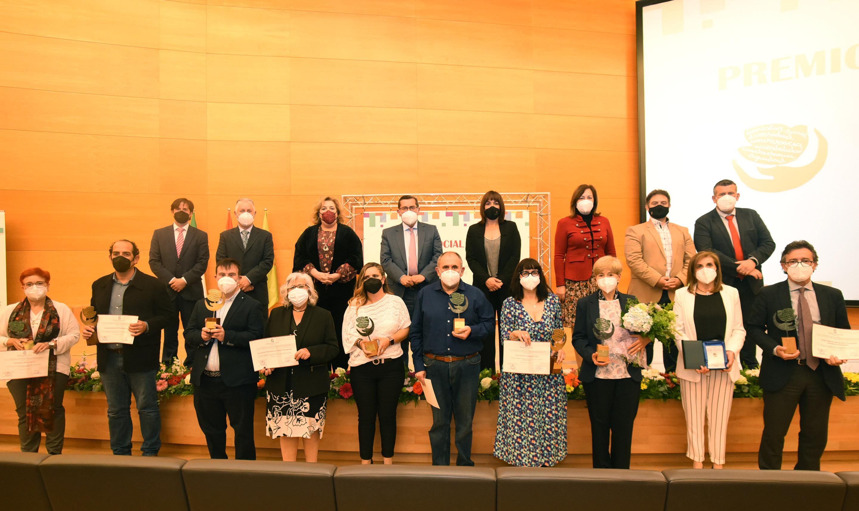 Diputación reconoce la labor de entidades, municipios y servicios sociales durante el año de la pandemia